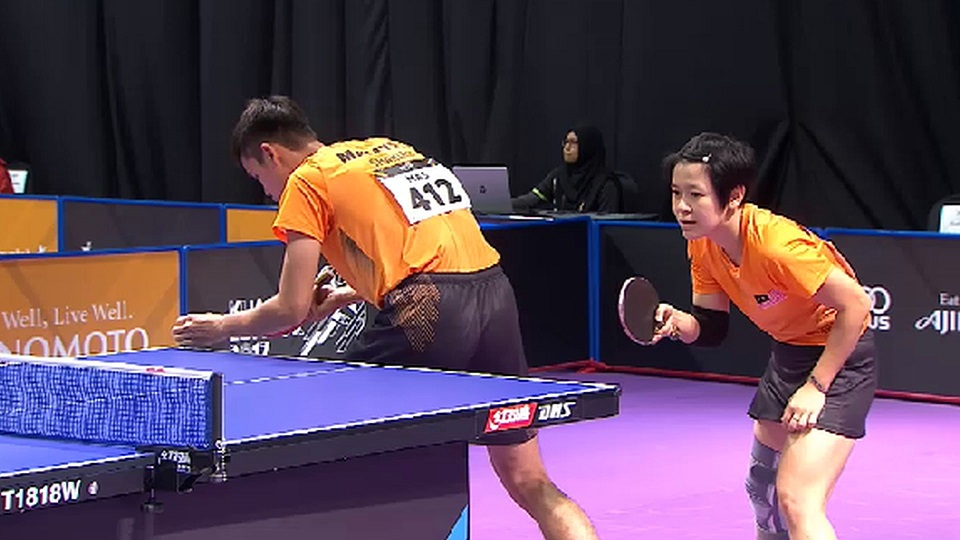 SEA Games  Malaysia table tennis eliminated early from doubles contention 0d93808cf155