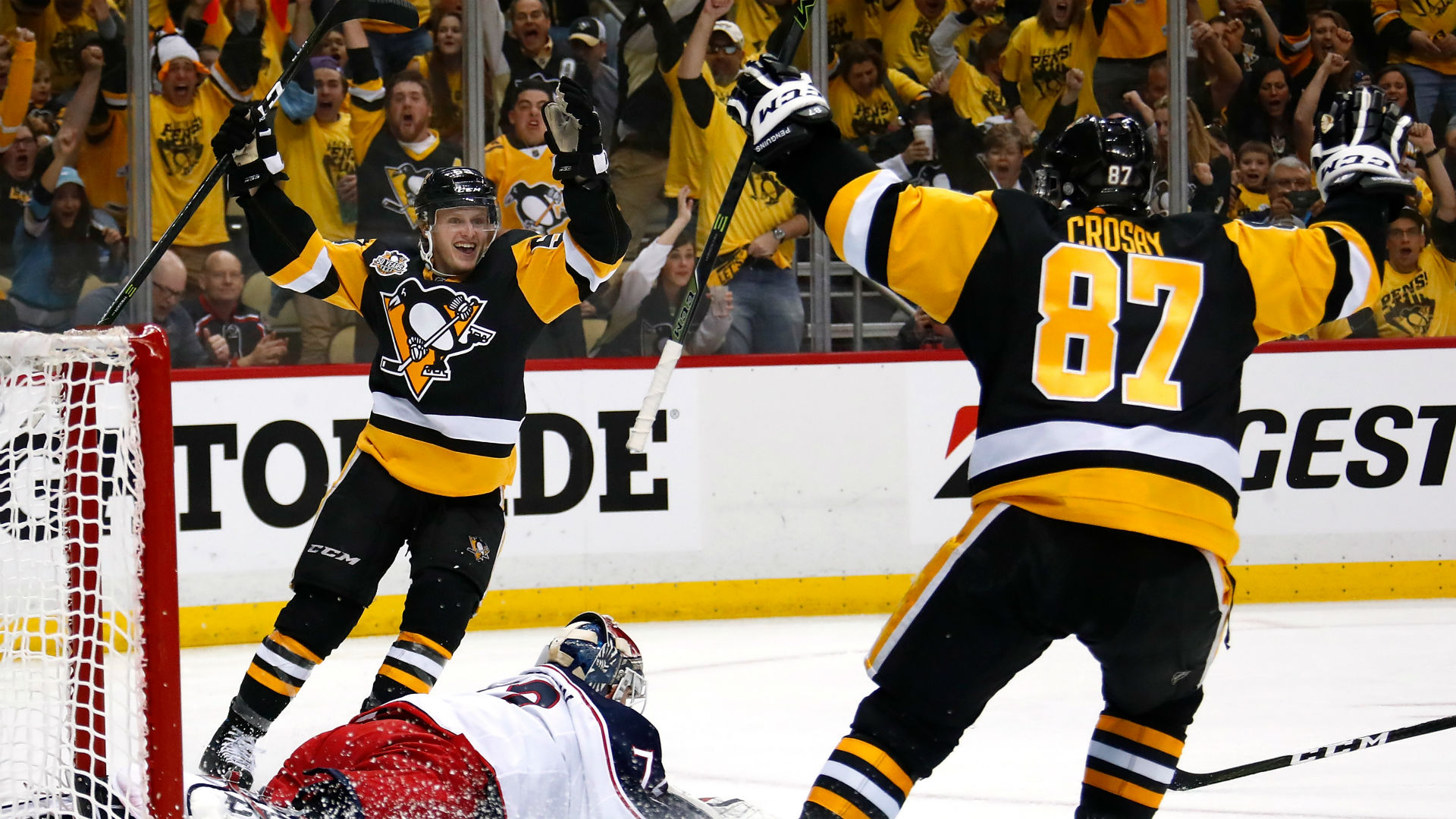 brand new fe27a 77f37 Stanley Cup playoffs three stars: Guentzel's hat-trick has ...