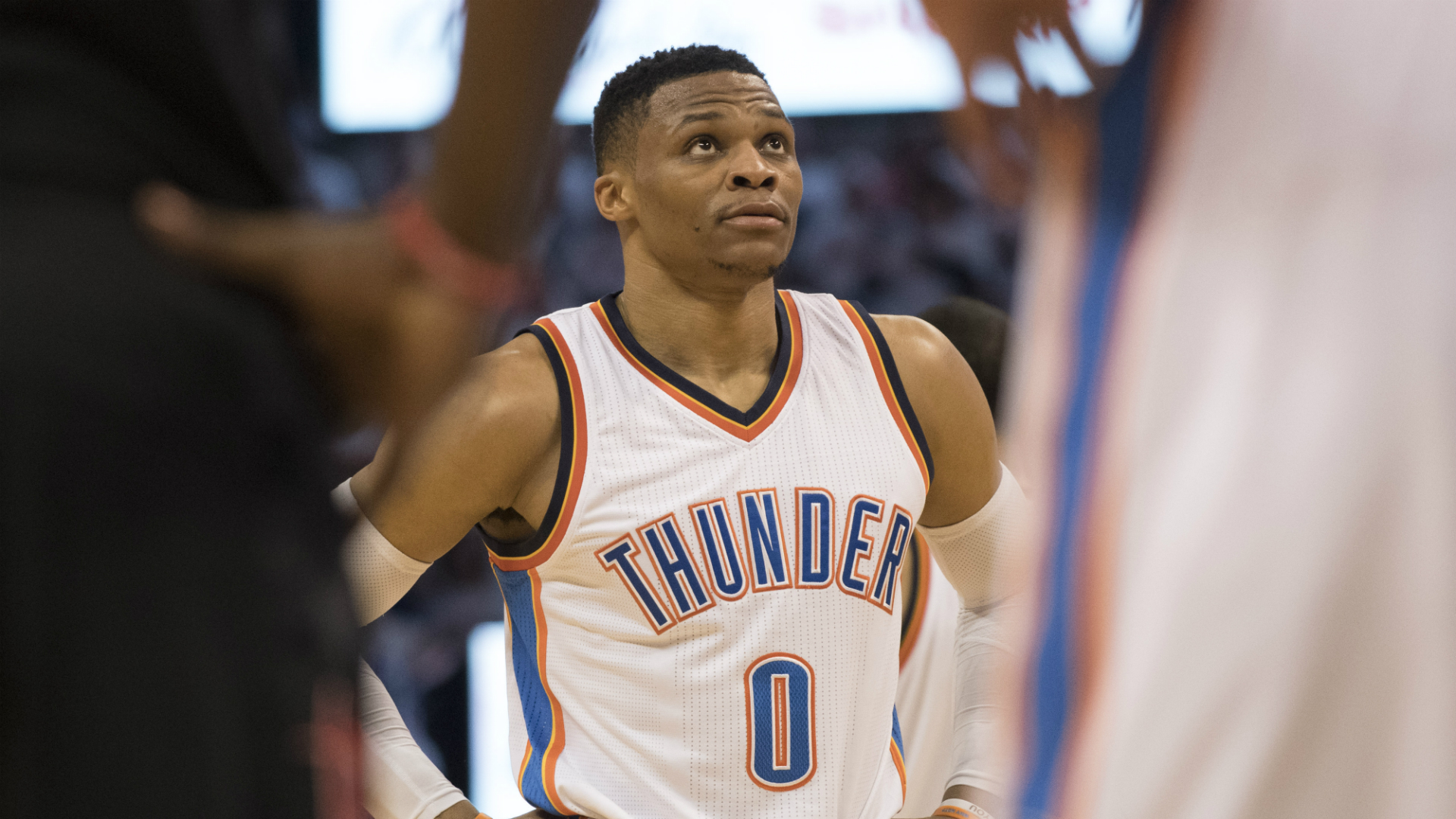 hot sale online 8bdc9 e3240 NBA playoffs: Thunder used Russell Westbrook more than Tune ...