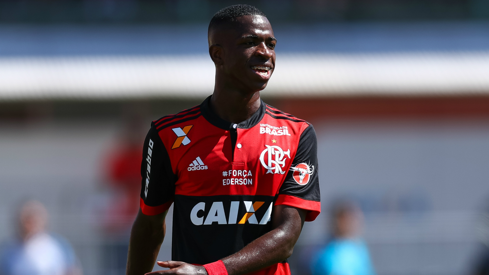 Real Madrid-bound Vinicius scores first professional goal for Flamengo.  Brazilian ... 32a08c497a1f7