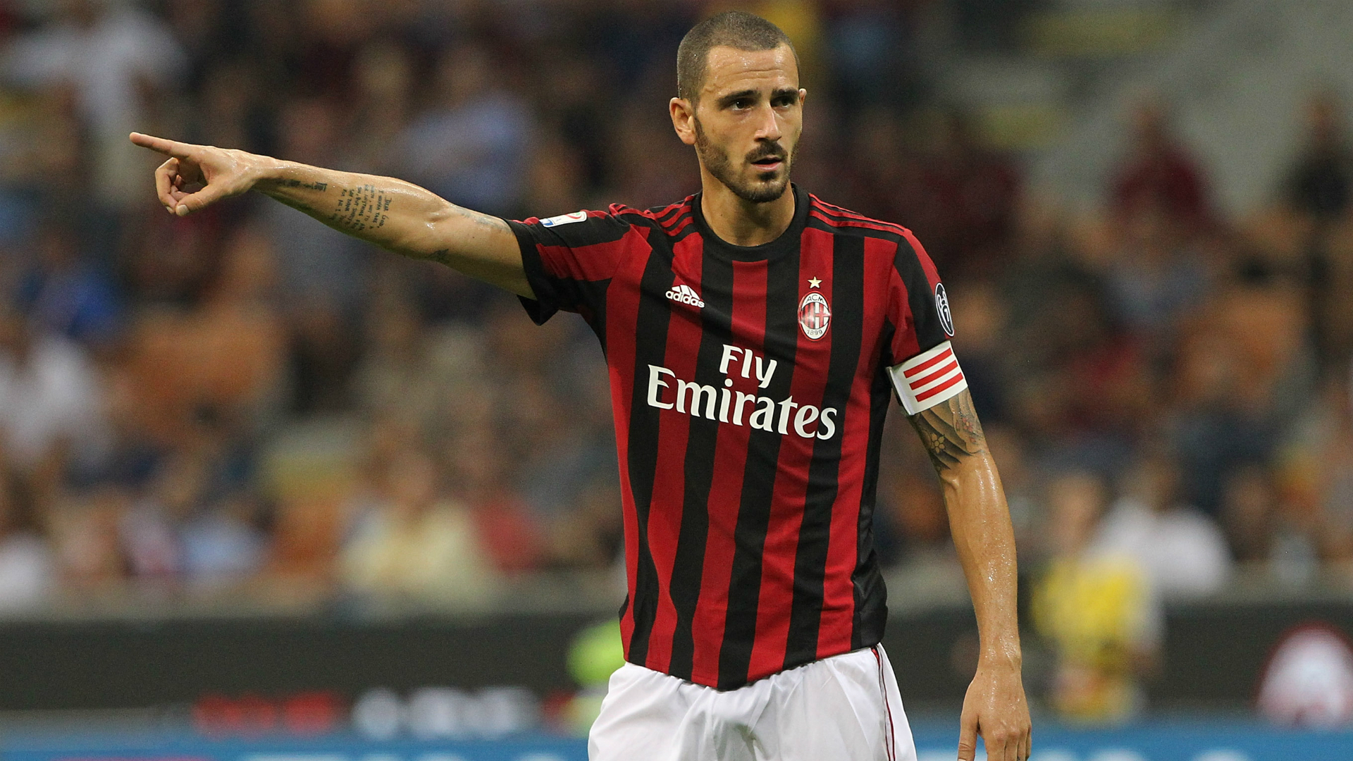 Serie A: Bonucci: Milan Growing But Still Behind Juve And Napoli