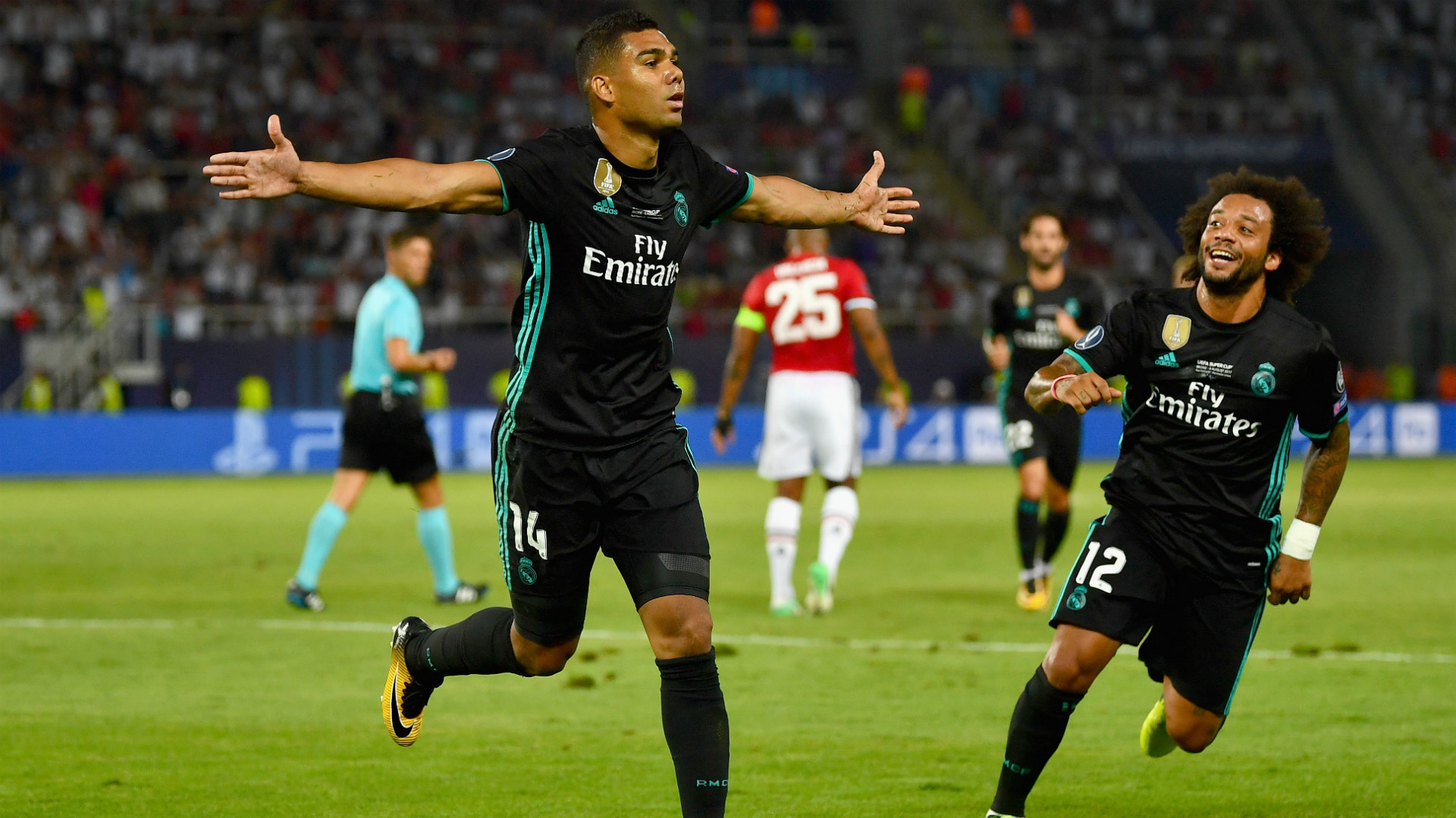 a40307d7fa6 Real Madrid 2 Manchester United 1  Casemiro and Isco seal Super Cup triumph
