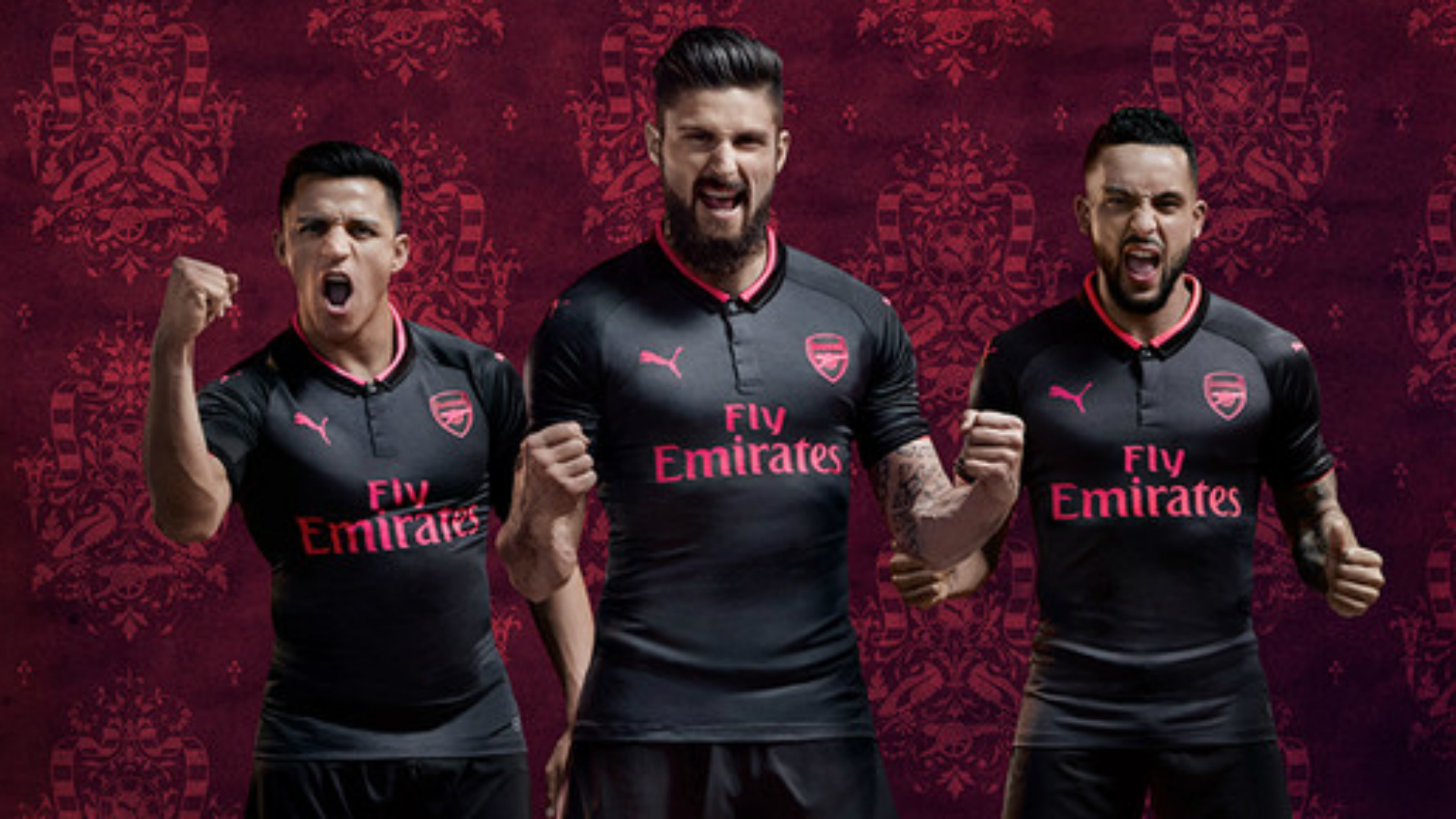 size 40 40b60 21437 In-demand Sanchez and Giroud launch new Arsenal third kit ...