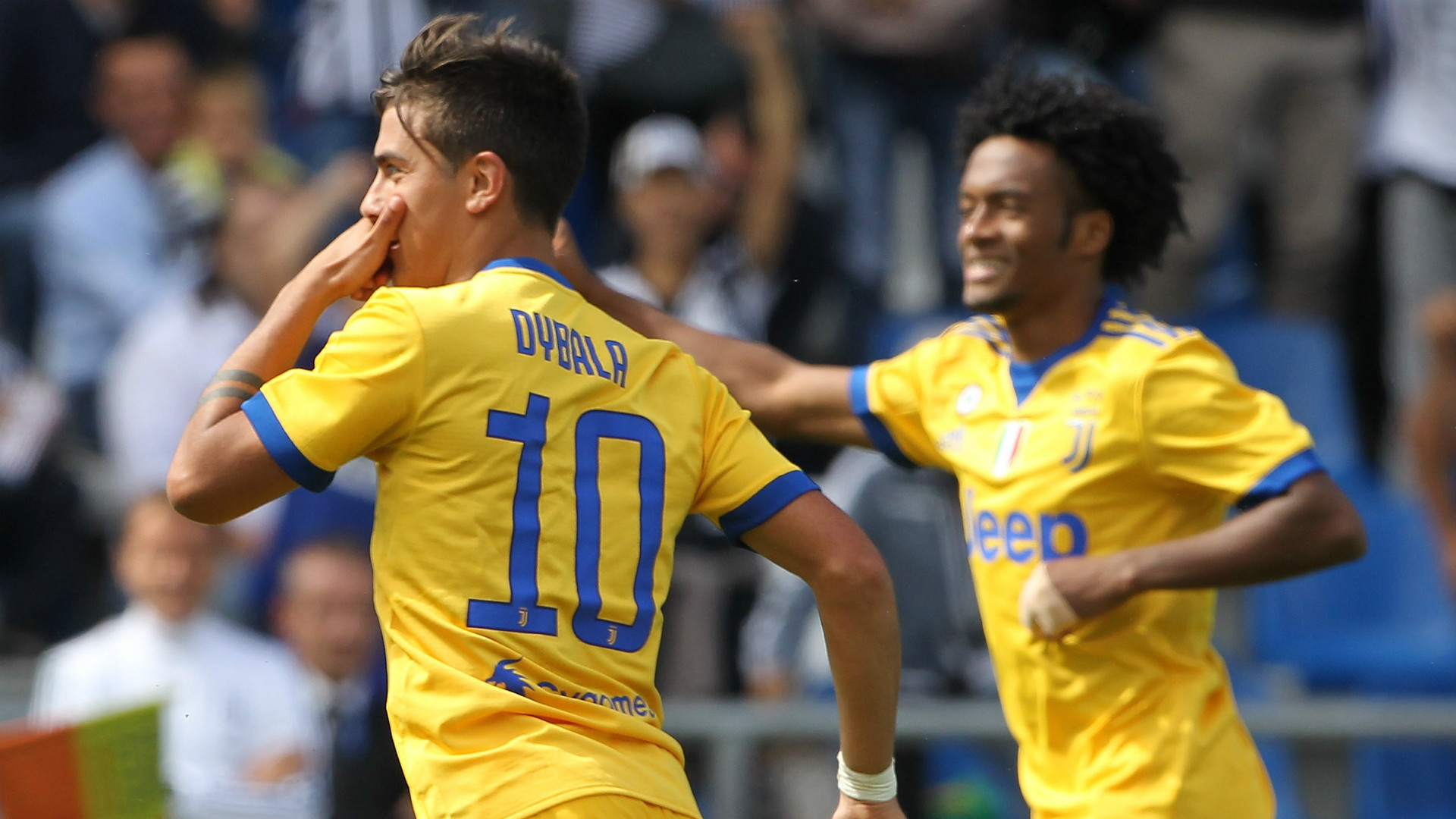 best value 14691 4c84e Sassuolo 1 Juventus 3: Dybala marks 100th appearance with ...