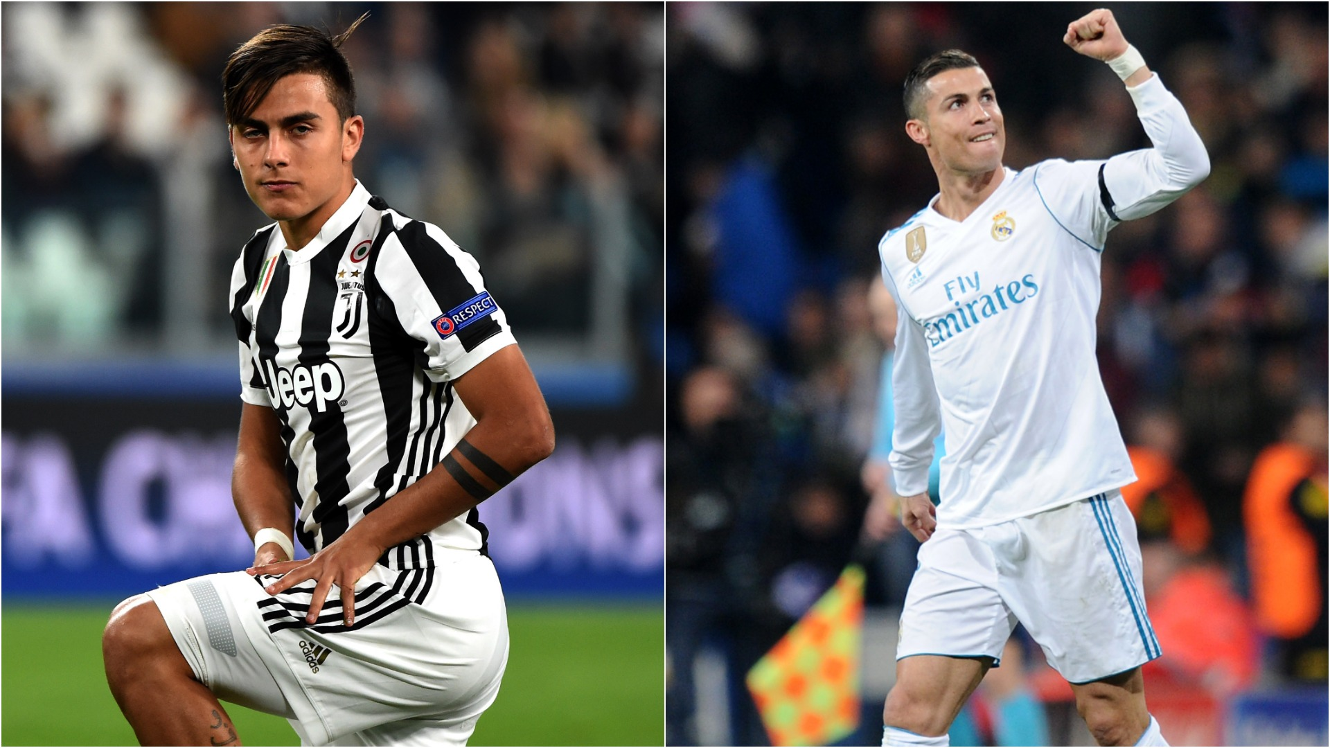 Dybala V Ronaldo Juventus And Real Madrid Stars Hitting Top Form At Bola Sepak Adidas Champions The Right Time
