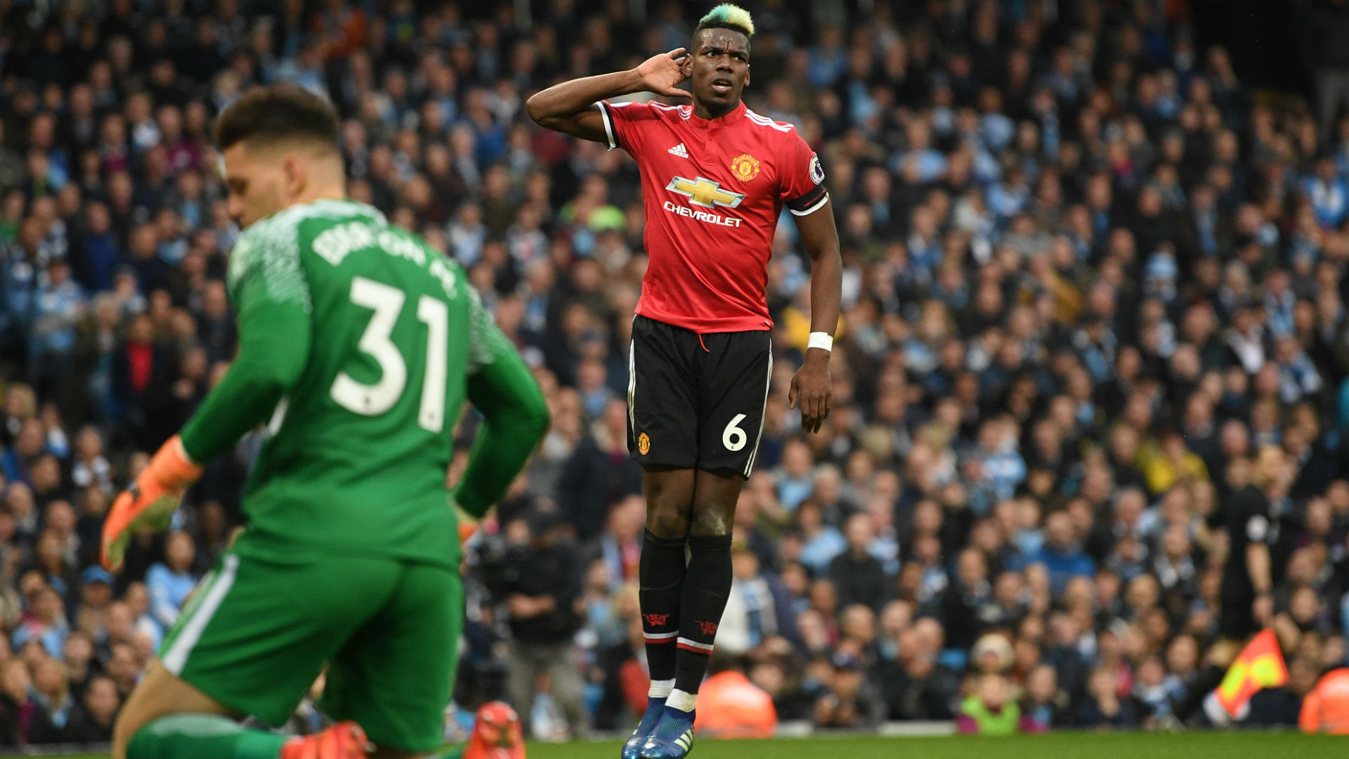 Manchester City 2 Manchester United 3 Pogba At The Double