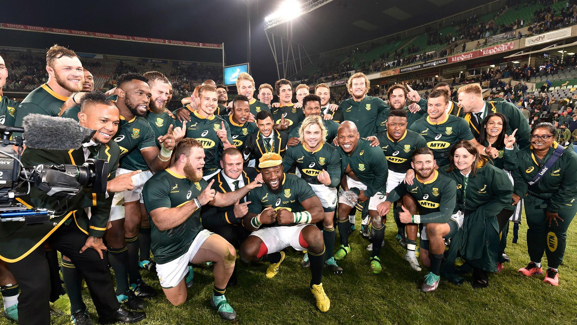 Rugby Championship 2018: True status of Erasmus' Springboks rebuild to be discovered
