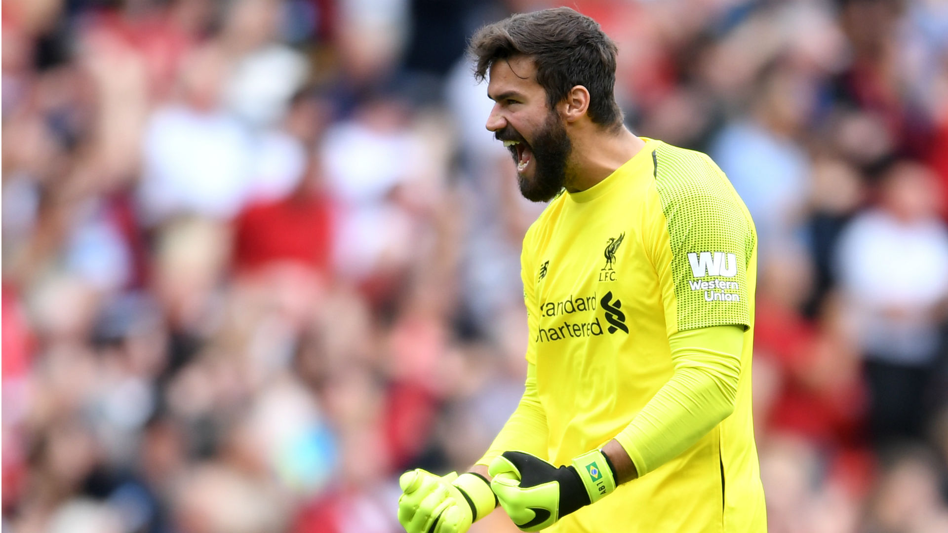 'World's best' Alisson will be difficult to replace, says Roma boss Di Francesco