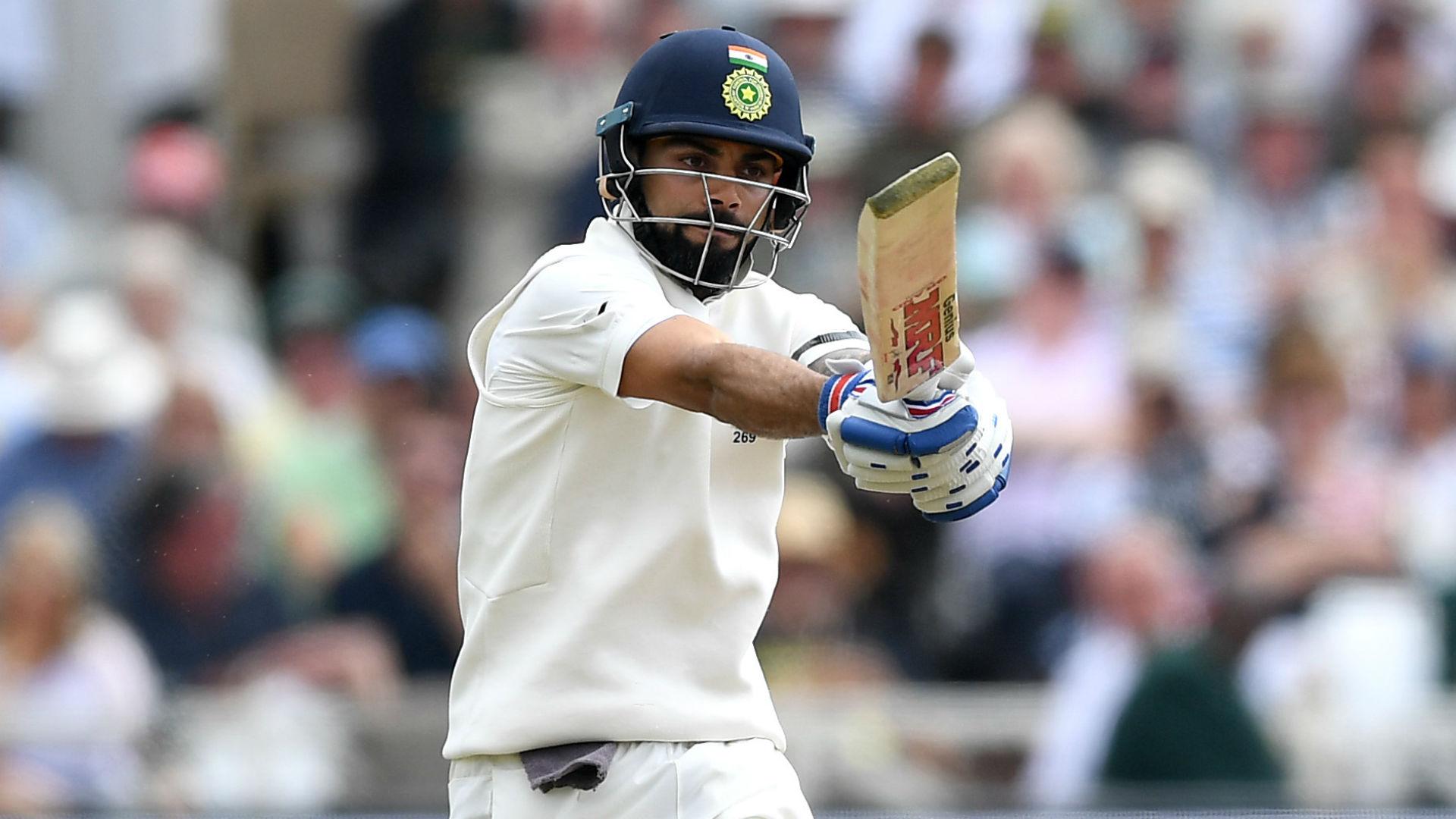 Kohli and Rahane star as India edge day one