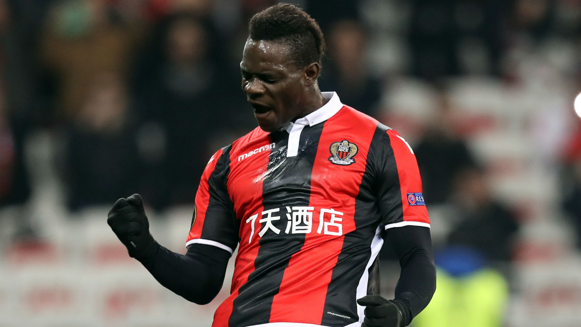 Balotelli staying at Nice