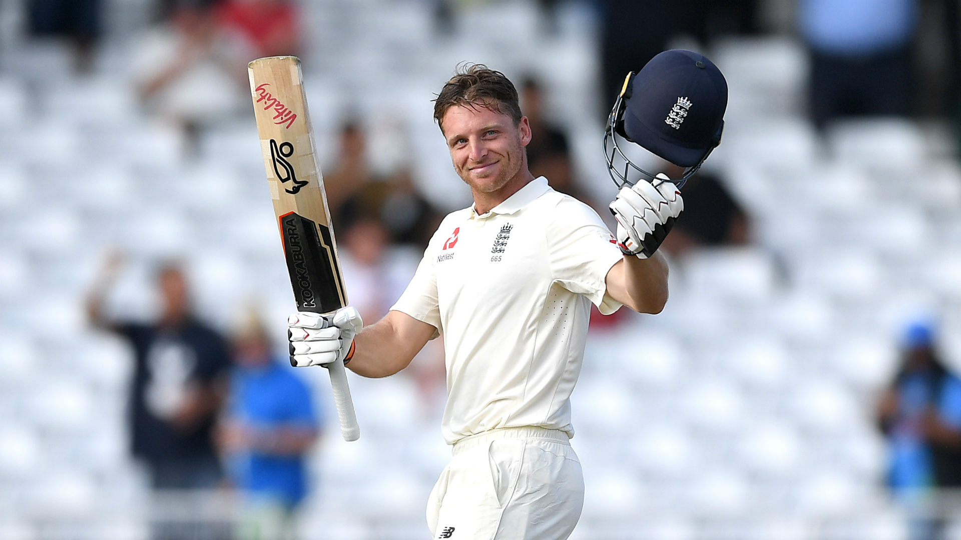 Buttler happy to serve up a century as England dig in at Trent Bridge