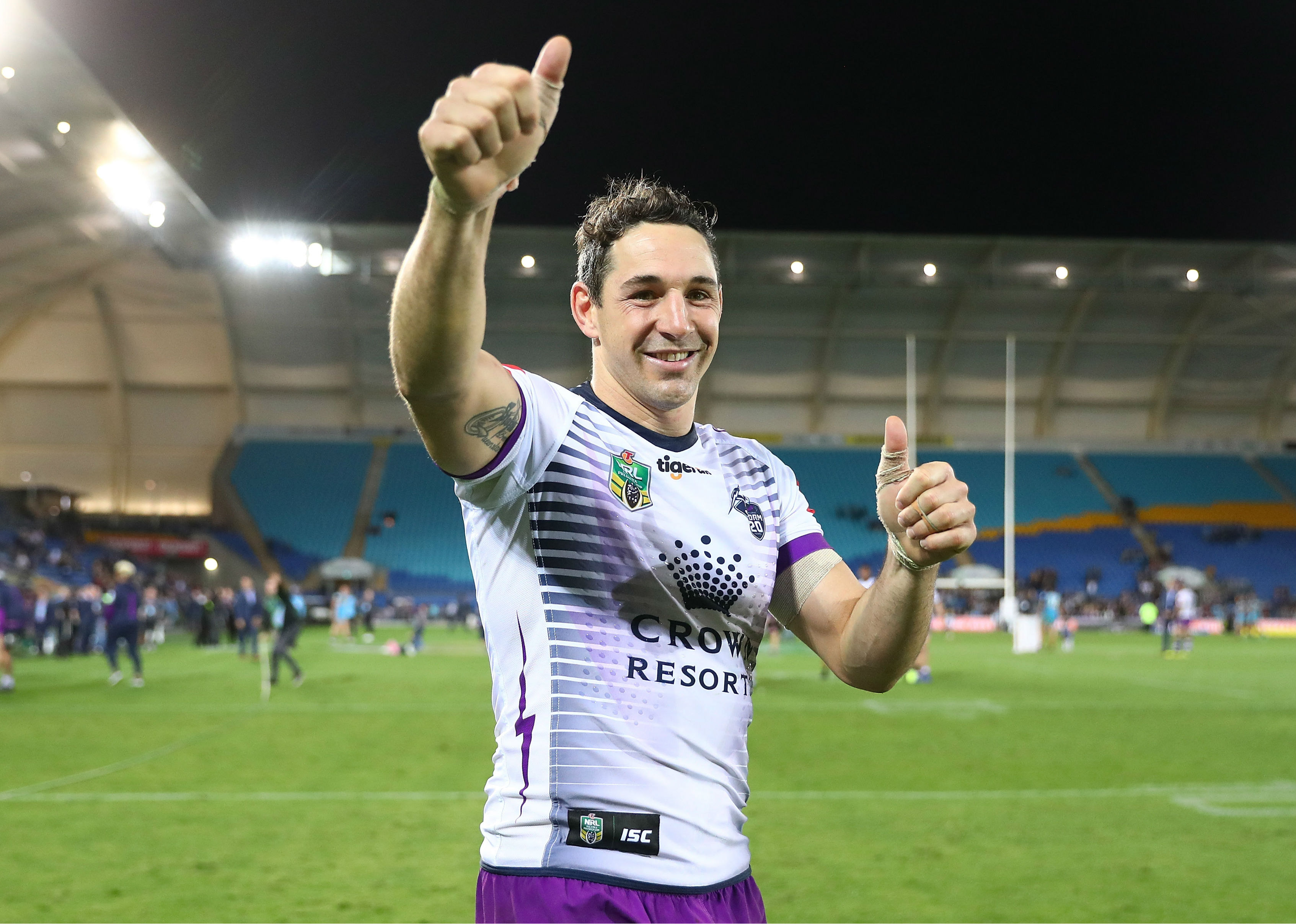 Slater stars in Queensland farewell as Storm cement top-four berth