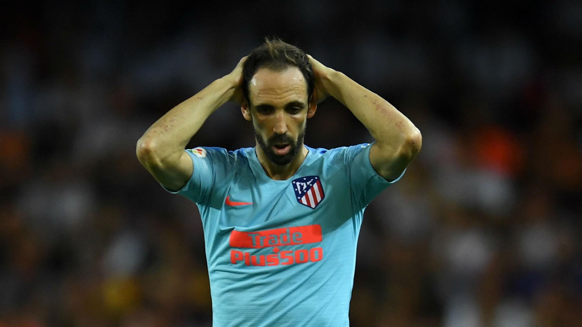 Atletico confirm Juanfran hamstring injury