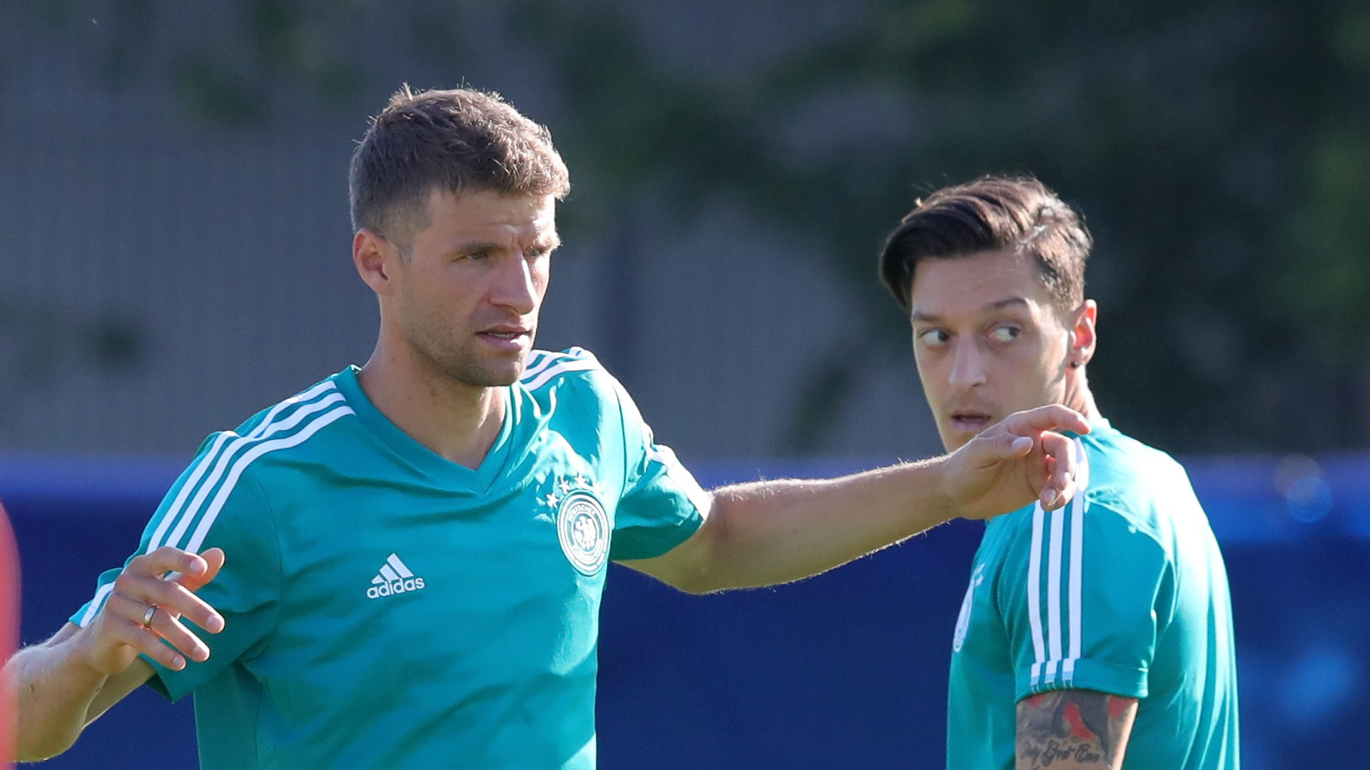 Muller insists racism not an issue in Germany team despite Ozil claims