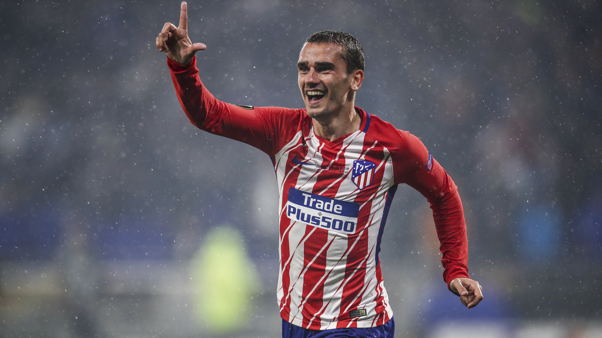 World Cup winners Griezmann and Hernandez back in Atletico training