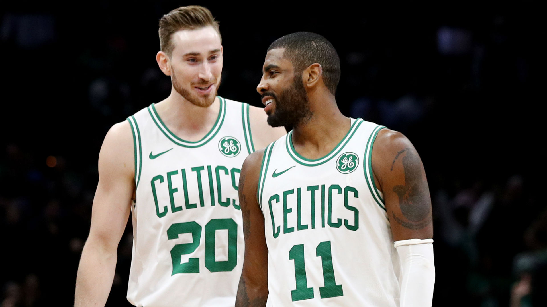 16071d3e4d3 Kyrie Irving urges Gordon Hayward to find  that toughness where he starts  turning red