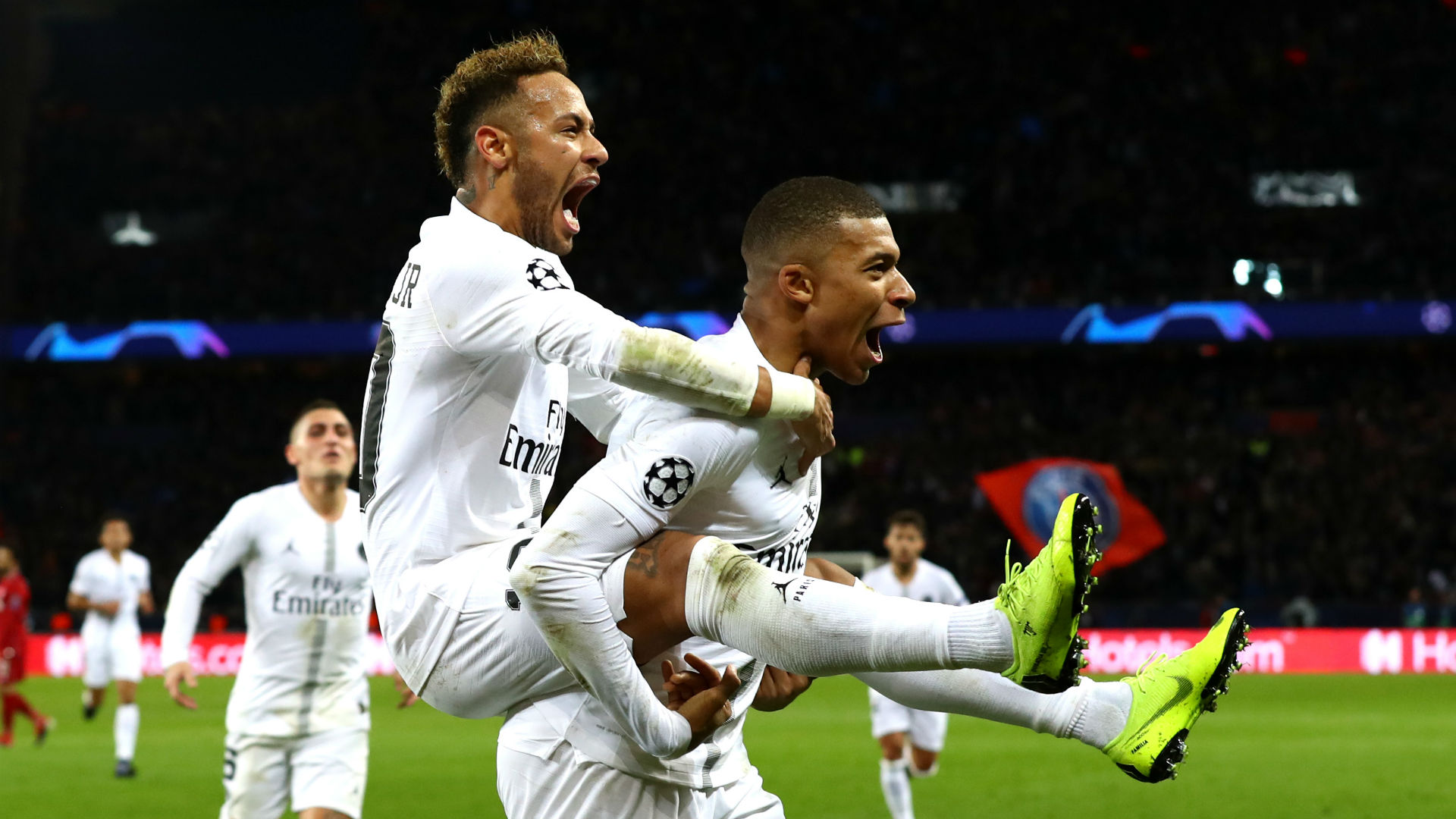 Better and better - Mbappe hails Neymar link