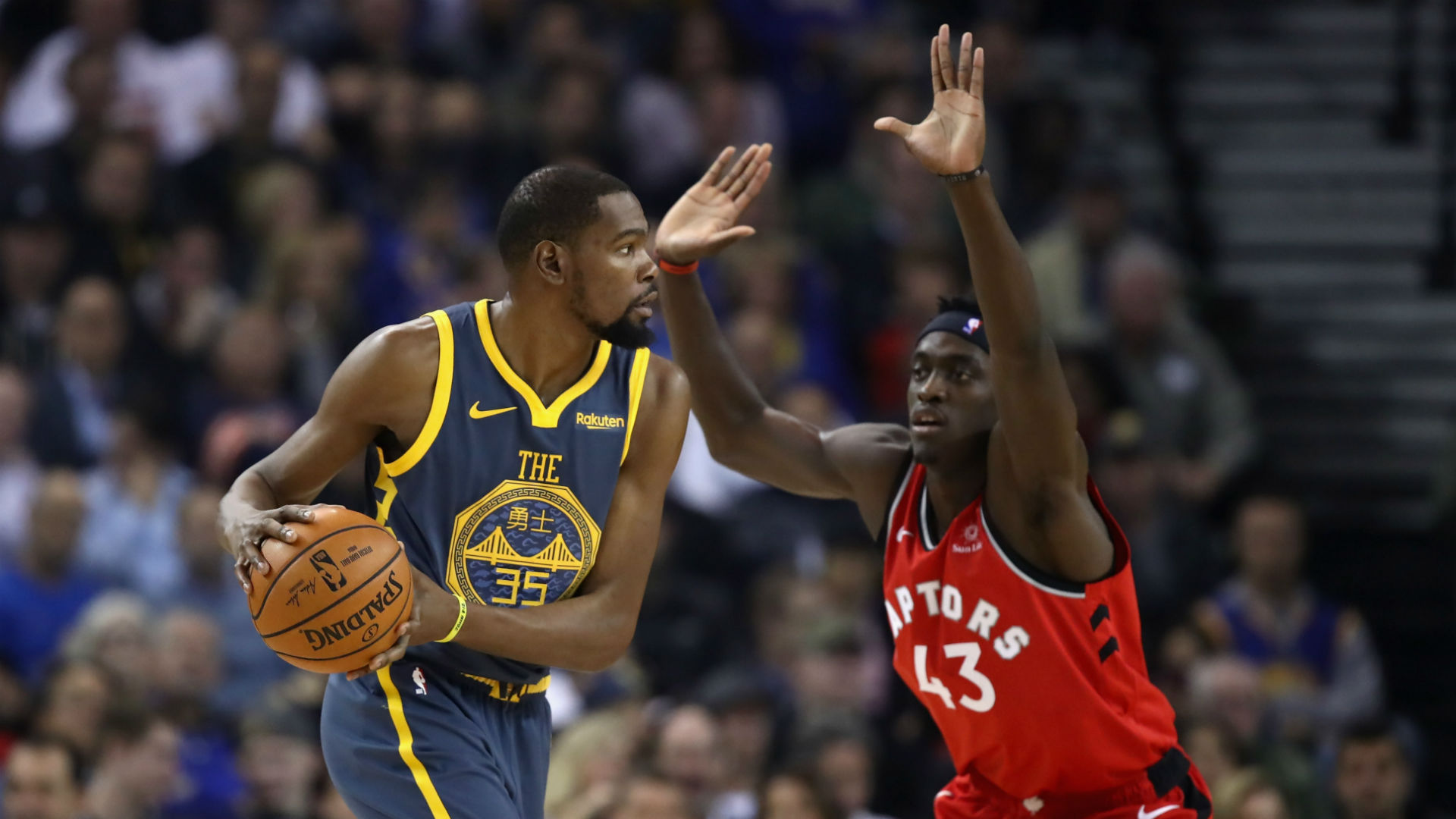 Durant: Raptors are the real deal