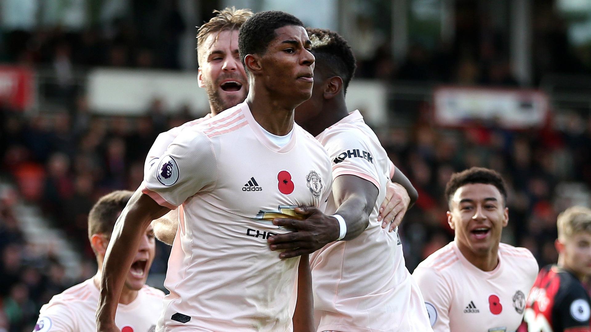 Liverpool V Manchester United Resurgent Rashford Now A