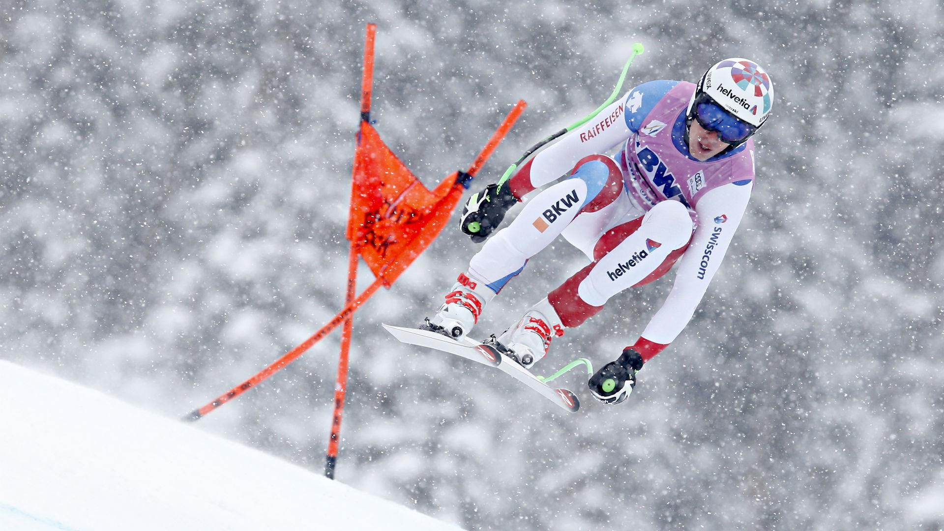 Gisin avoids serious damage to skull and spine in val gardena crash jpg  1920x1080 Skier skull b1c3fe220