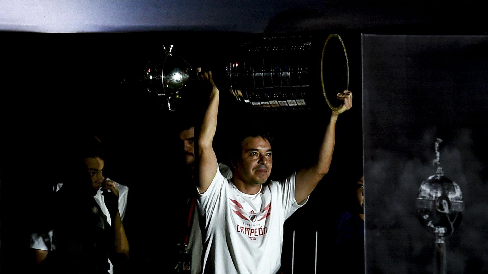 Gallardo hails River Plate's 'eternal' Copa Libertadores glory