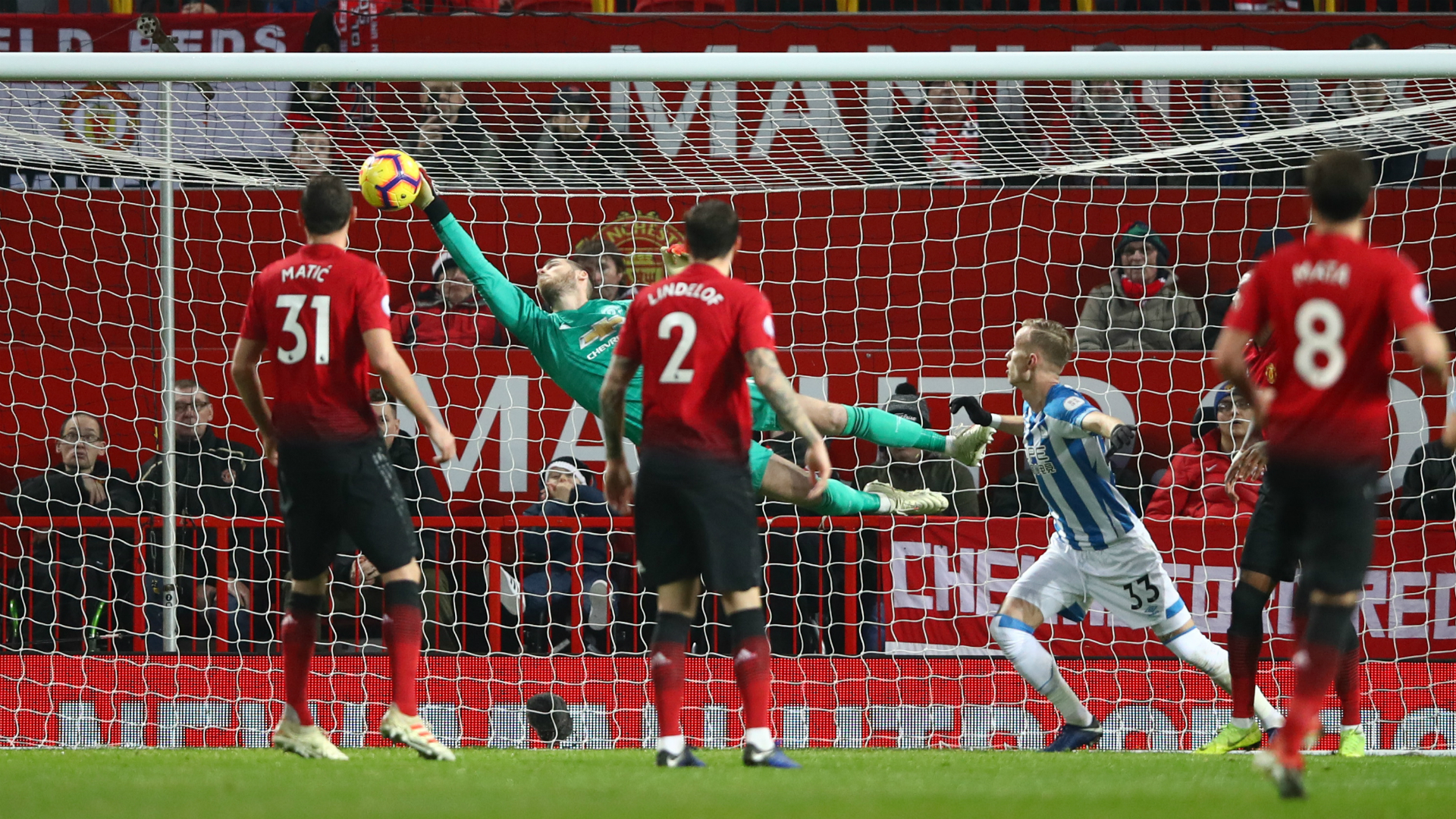 De Gea save the best I've seen, says Solskjaer
