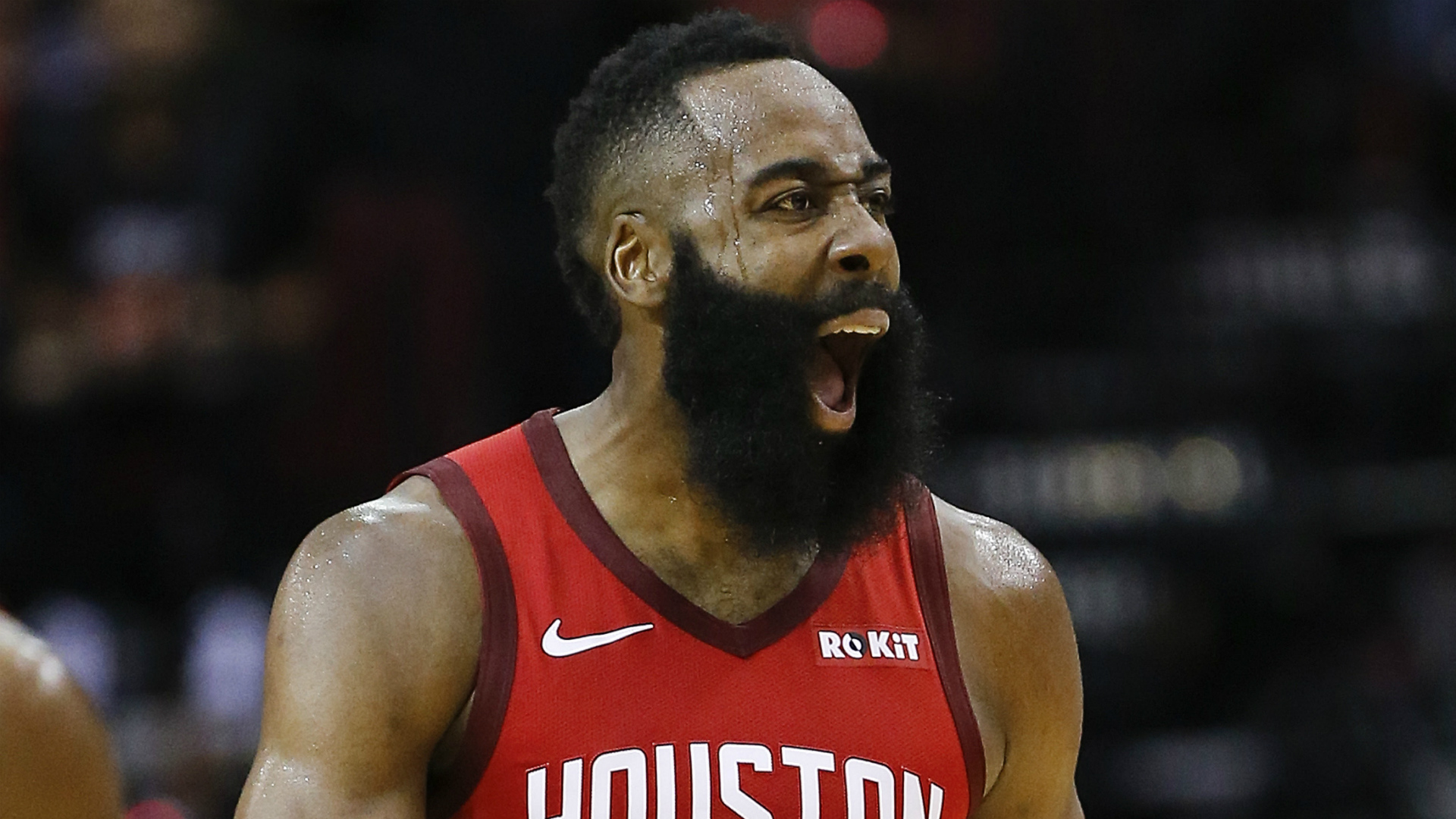 Form James Harden stars as Rockets beat Celtics