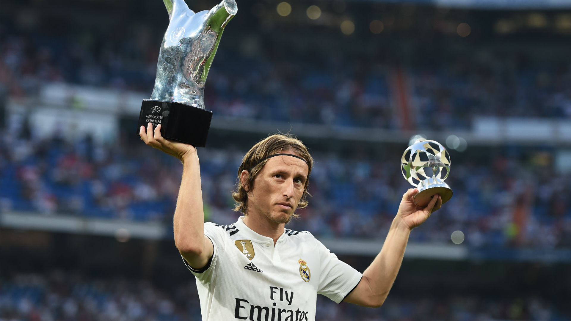 Ballon d'Or winner Modric wants to retire at Real Madrid