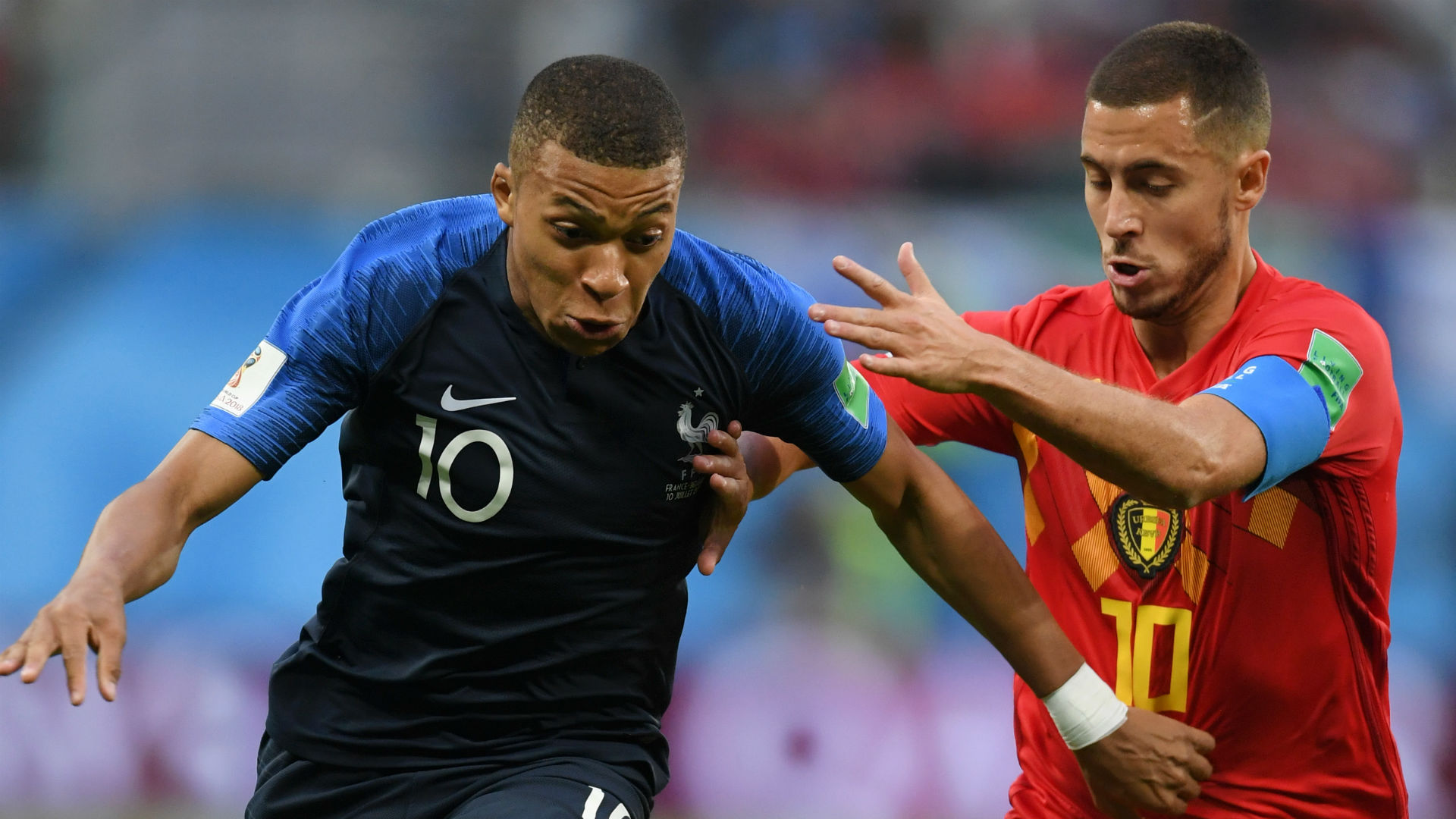 Hazard the best player I played against this year – Mbappe