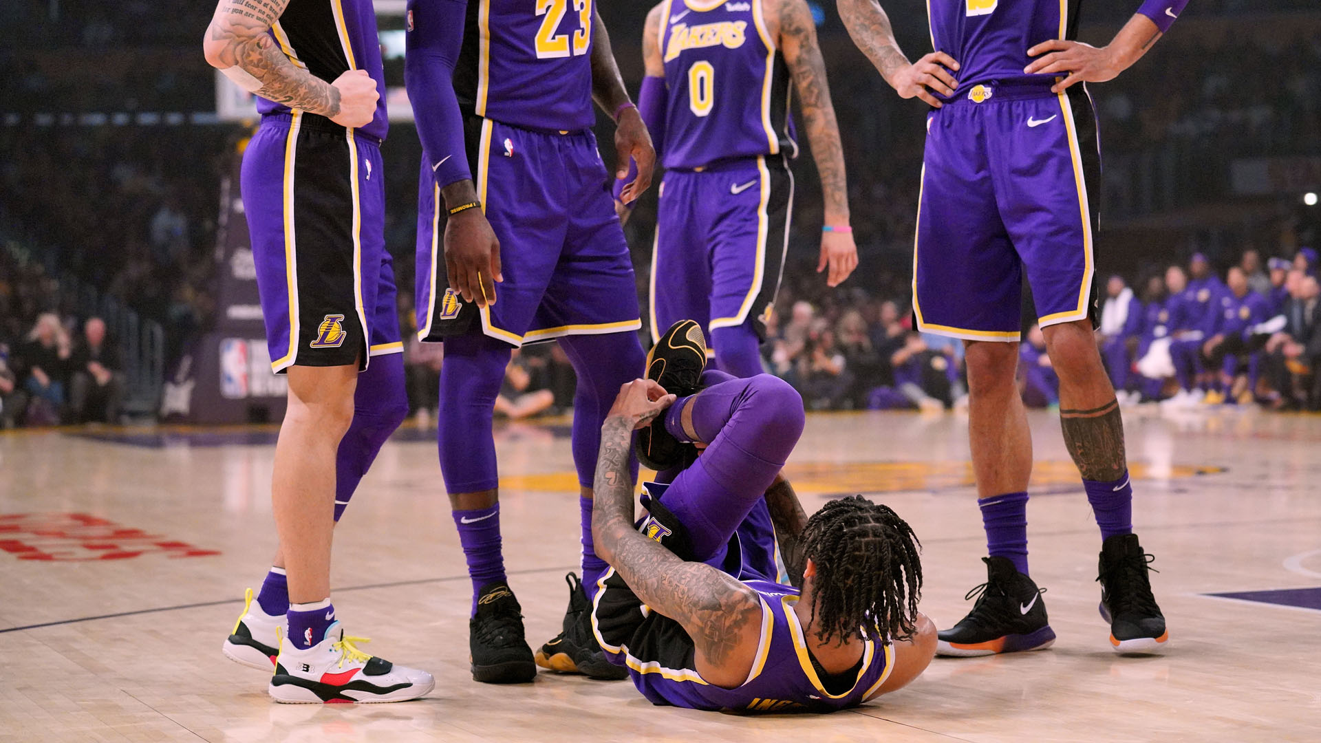 Brandon Ingram injury update: Lakers F reportedly will miss next three games with sprained ankle