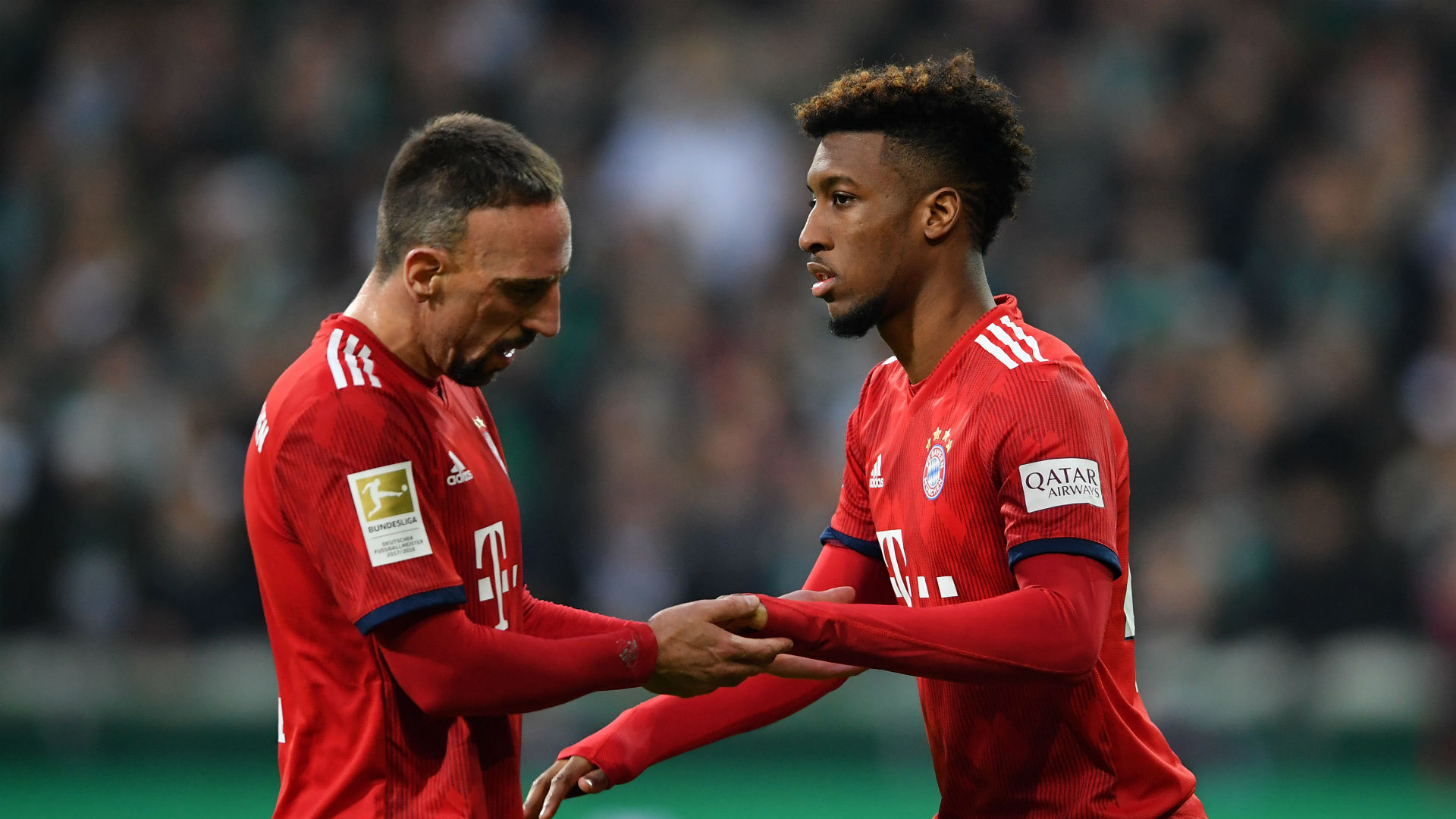 Bayern already benefitting from Coman return
