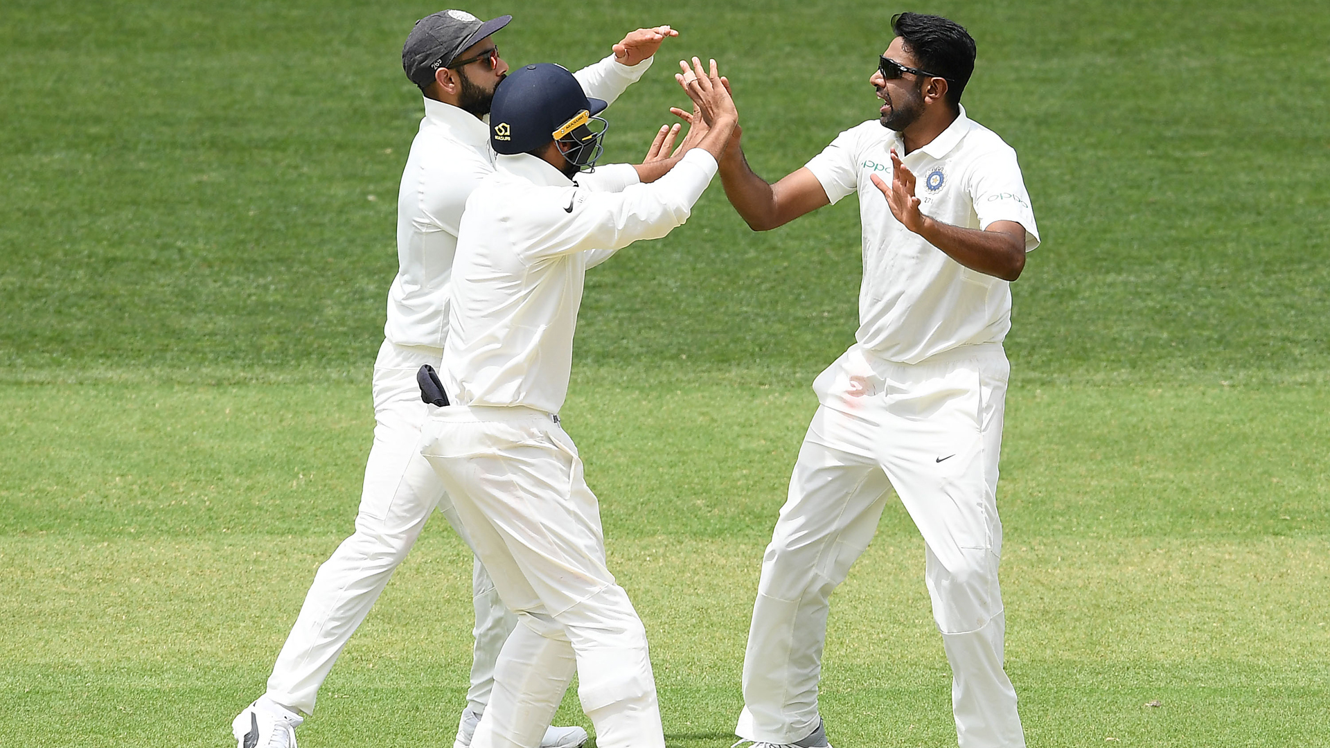 India enjoy strong day in Adelaide