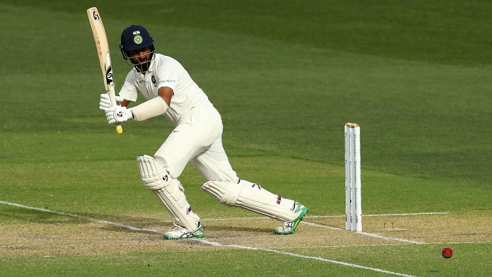Pujara shines again as India claim advantage