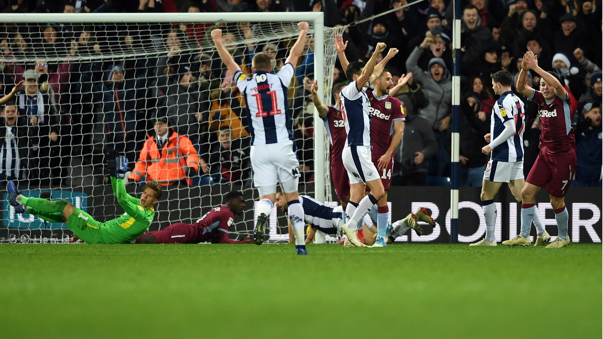 West Brom 2 Aston Villa 2: Controversial Rodriguez goal snatches draw