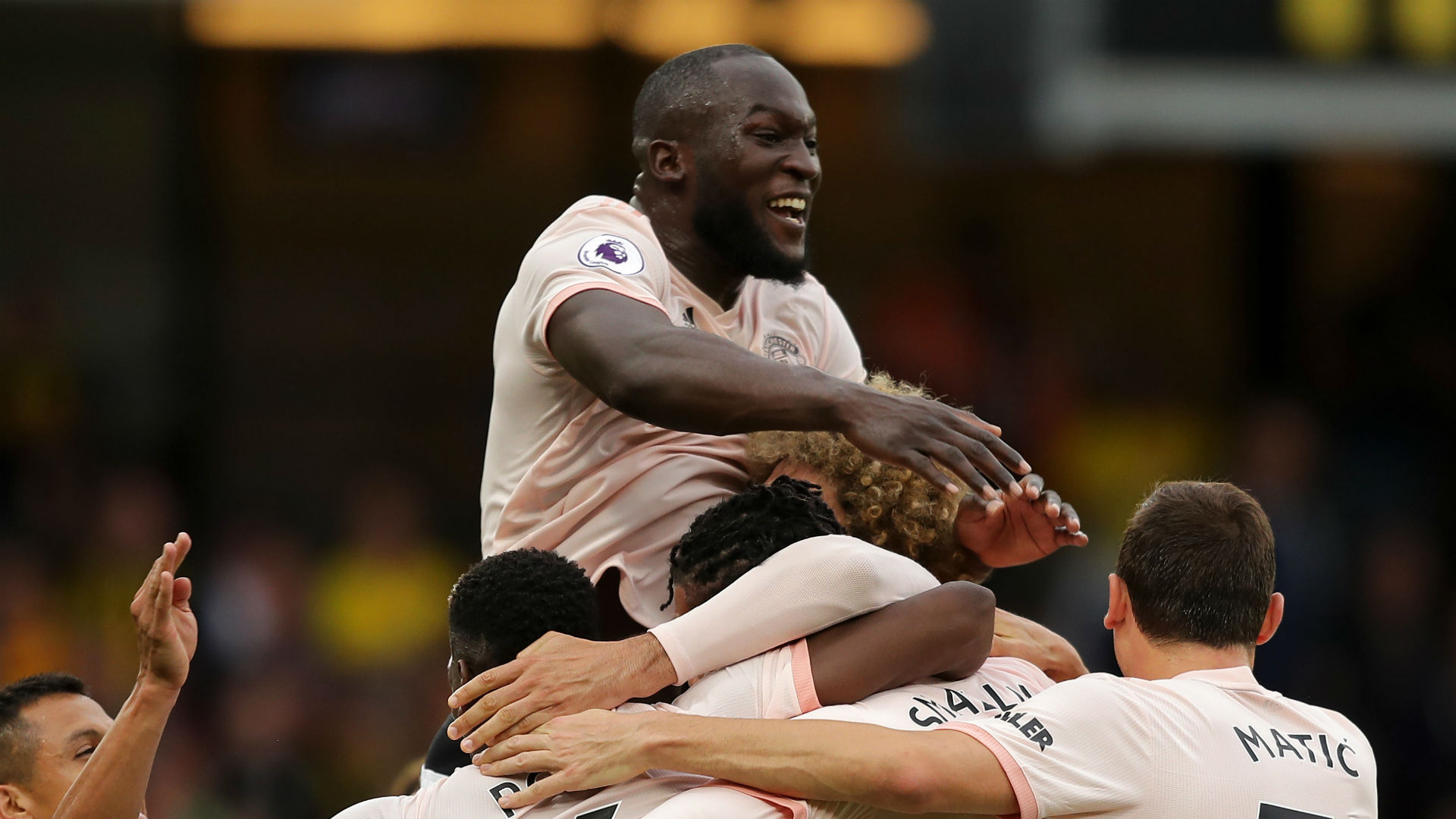 Lukaku returns for United as Pogba remains benched