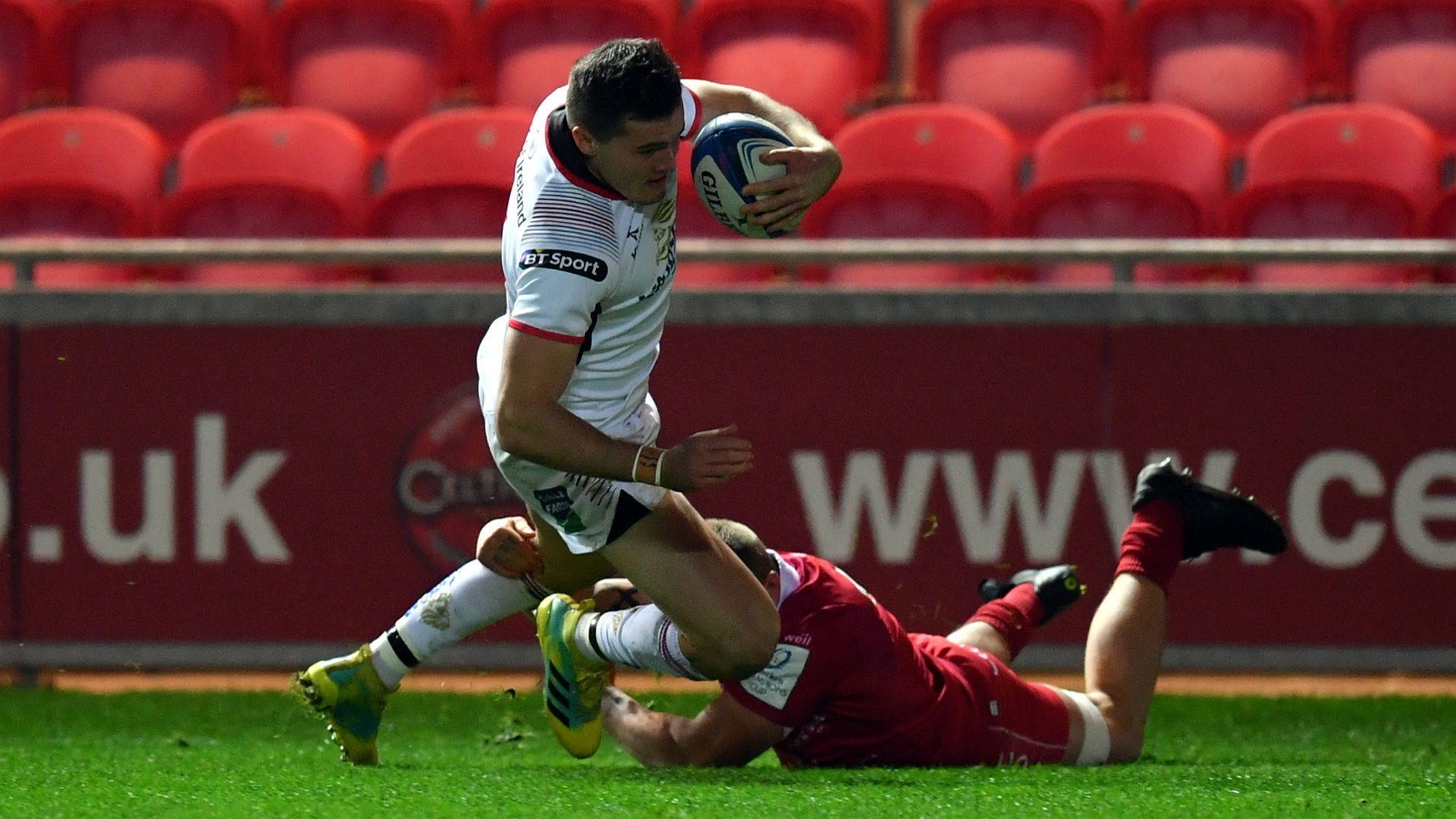 Scarlets beaten by Ulster as knockout hopes fade
