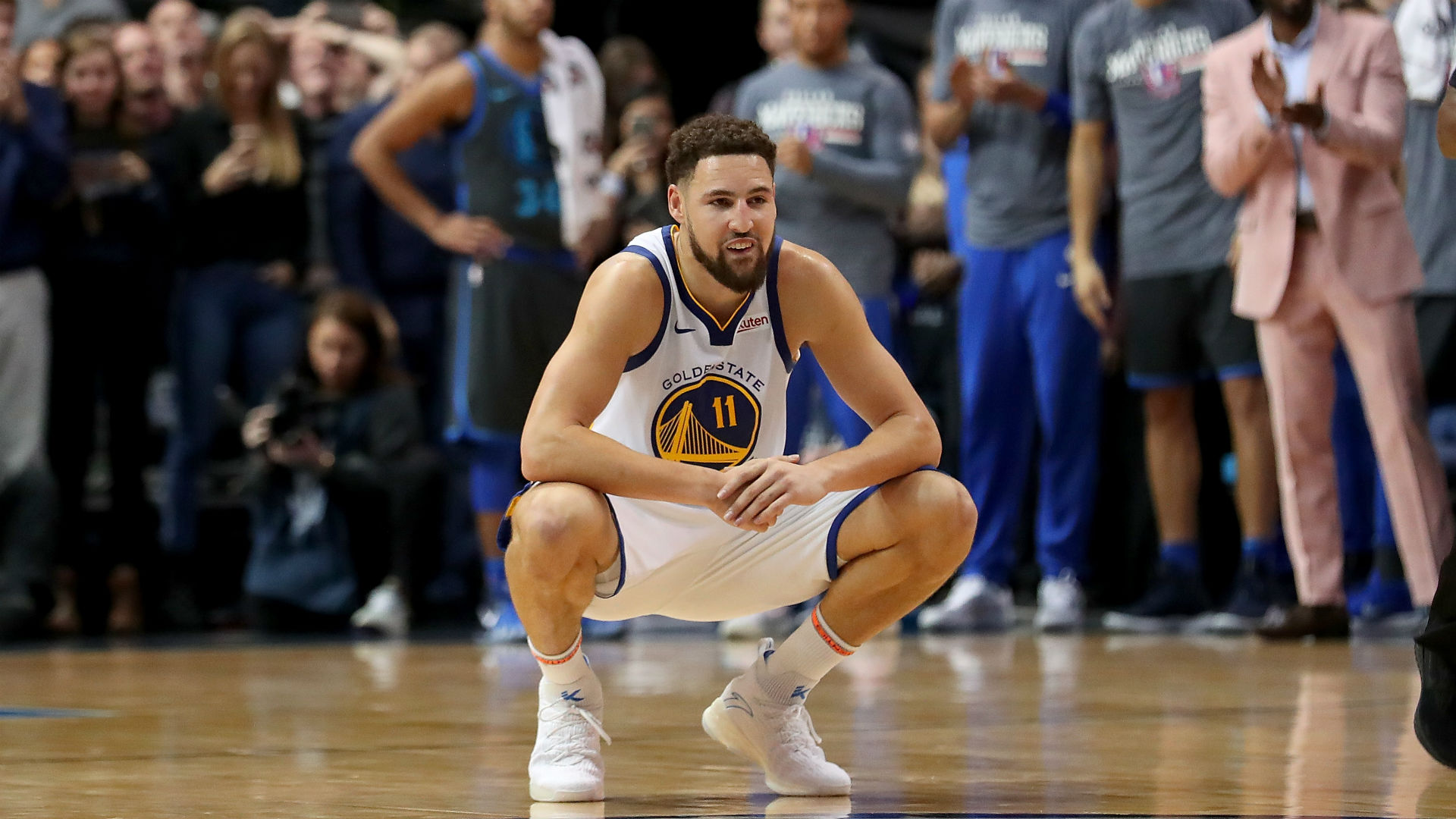 Klay Thompson says Warriors were embarrassed after first Bucks game