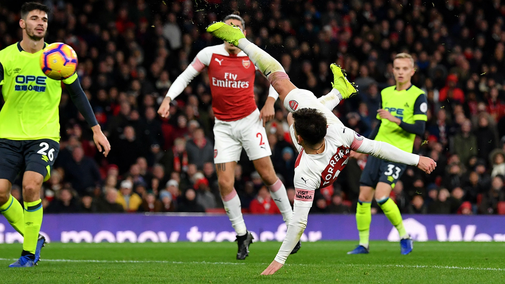 He wants to be like Aubameyang and Lacazette! - Xhaka hails match-winner Torreira