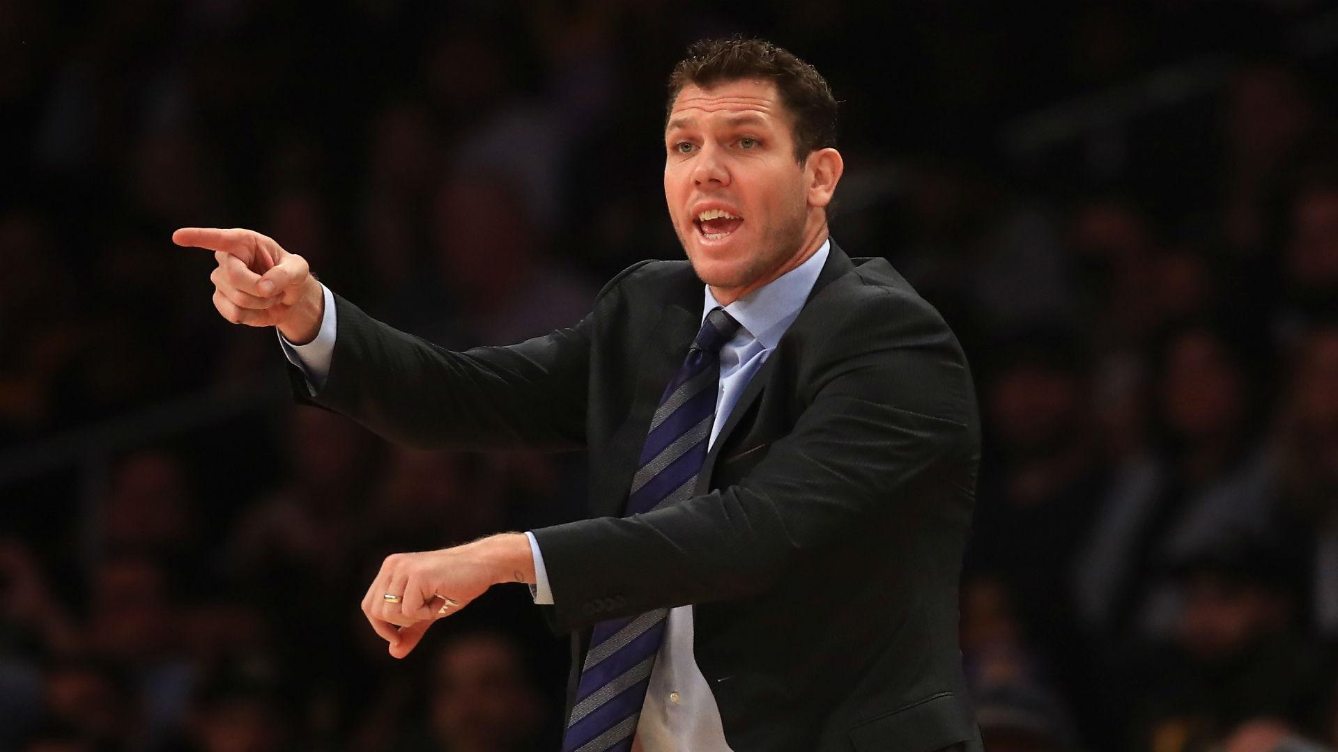 Lakers 'gave in a little bit' against Spurs, coach Luke Walton admits
