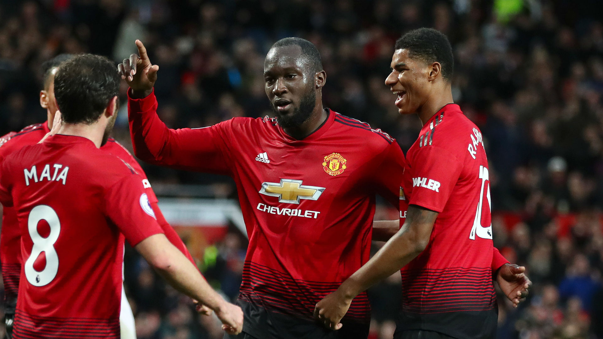 Lukaku halts huge Old Trafford goal drought