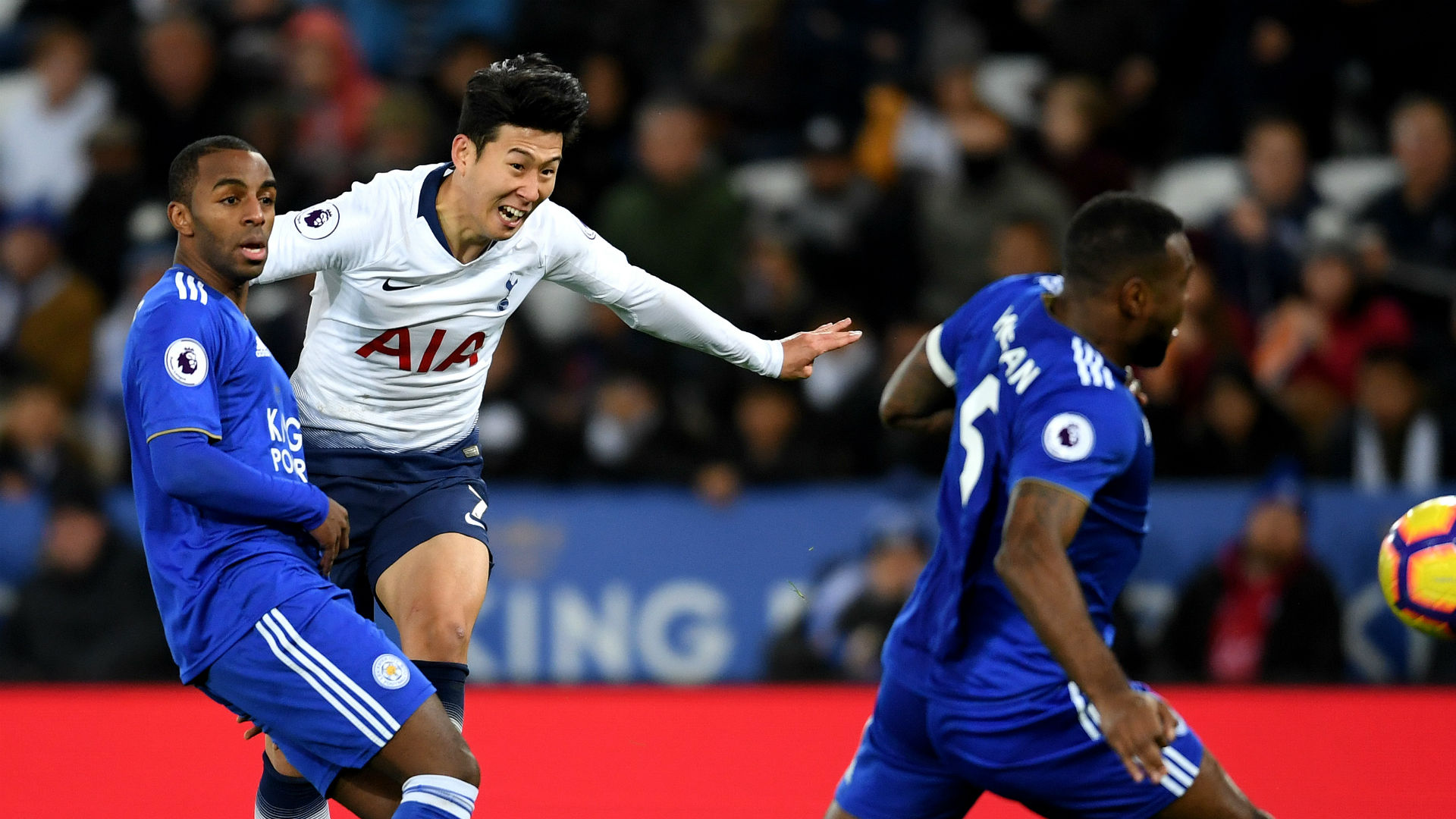 Leicester City 0 Tottenham 2: Latest Son stunner buoys Spurs for Barca mission