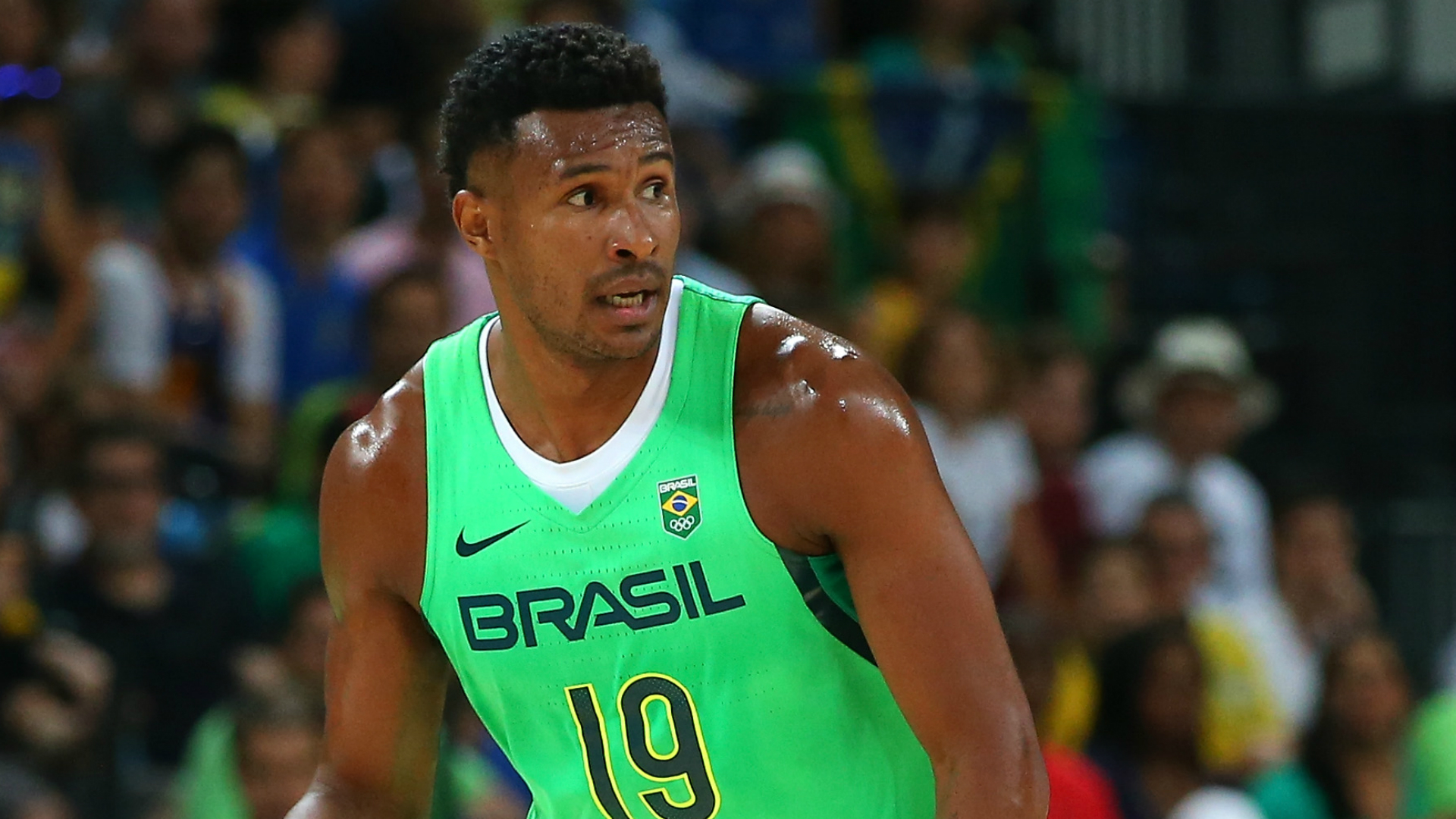 Former NBA pair help Brazil stay perfect in World Cup qualifying