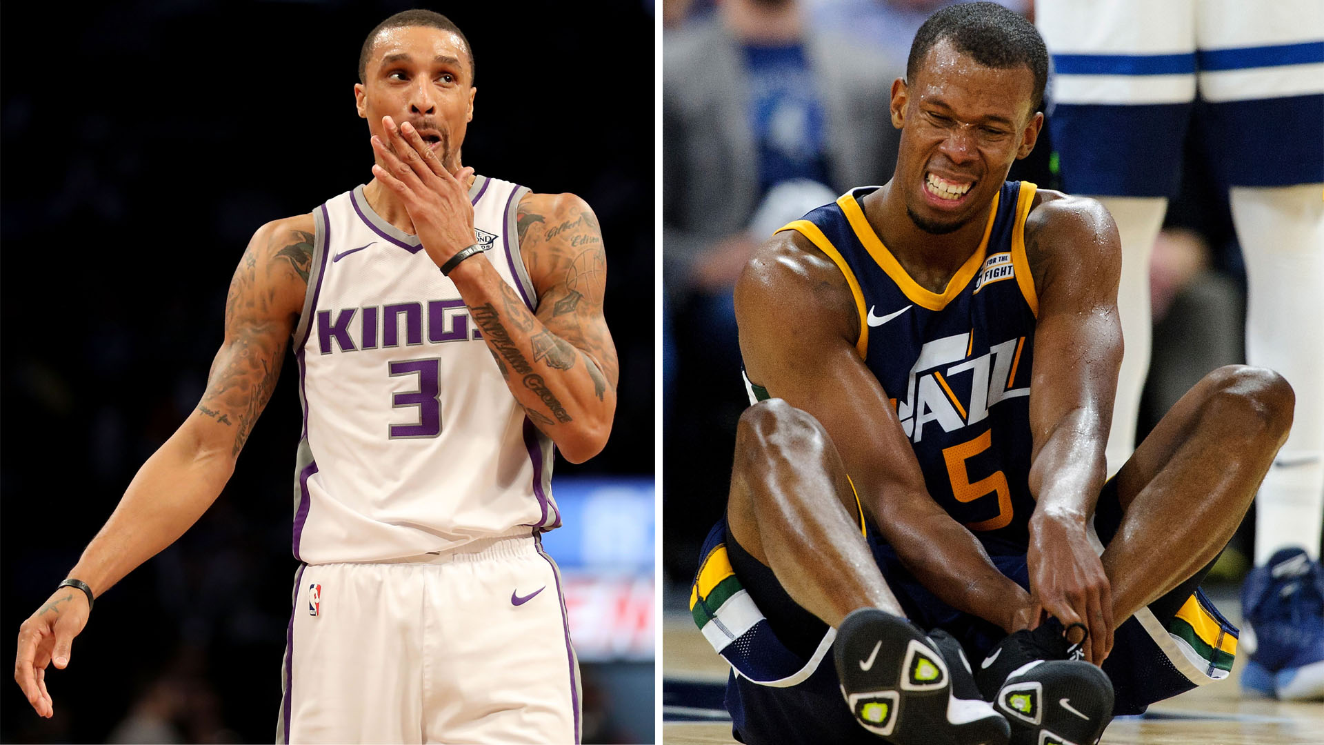 huge discount 18dab 47843 NBA trade rumors: Cavs acquire Rodney Hood, George Hill in ...