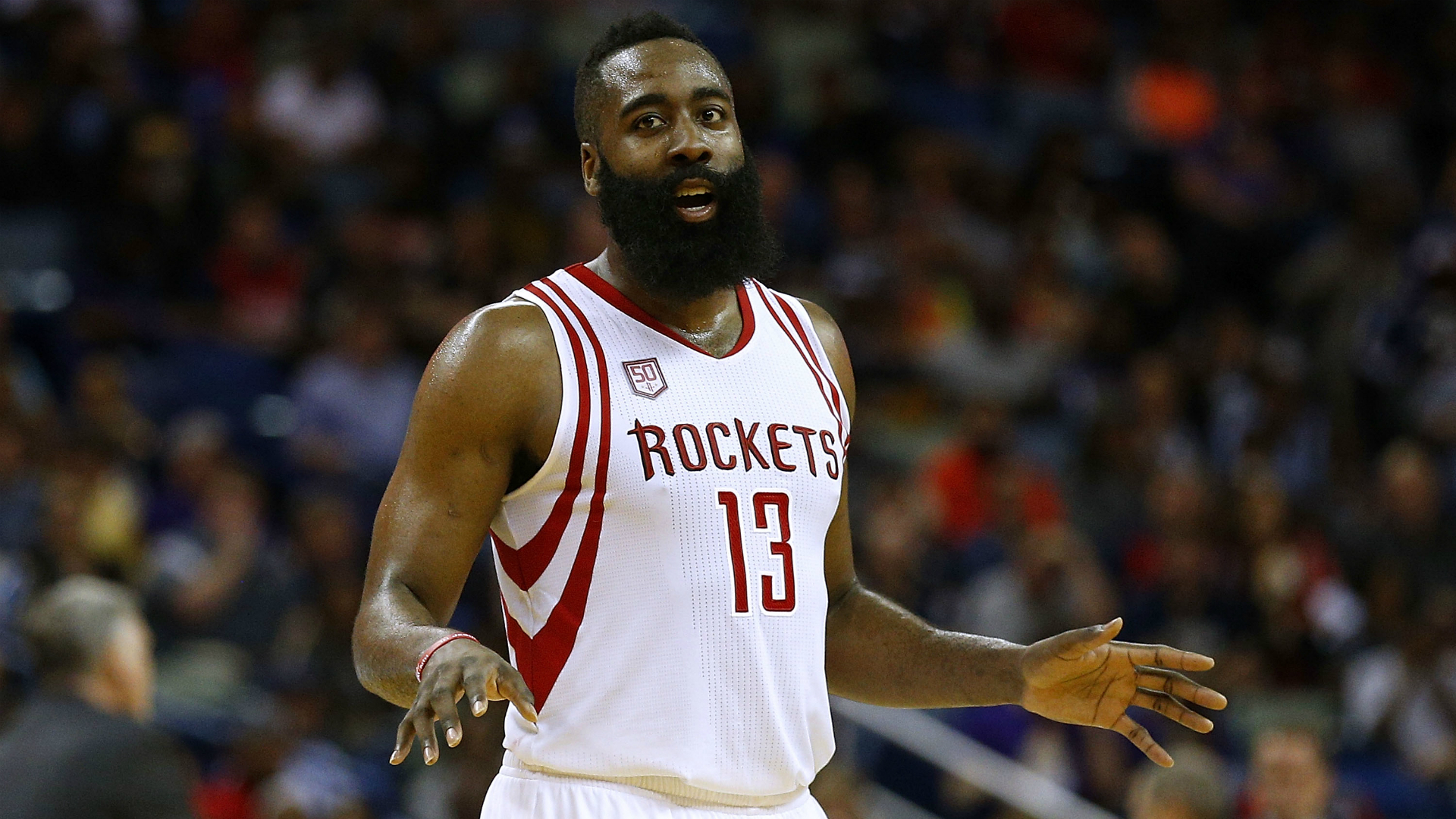 582a03992b92 James Harden injury update  Rockets star out 2 weeks with Grade-2 hamstring  strain