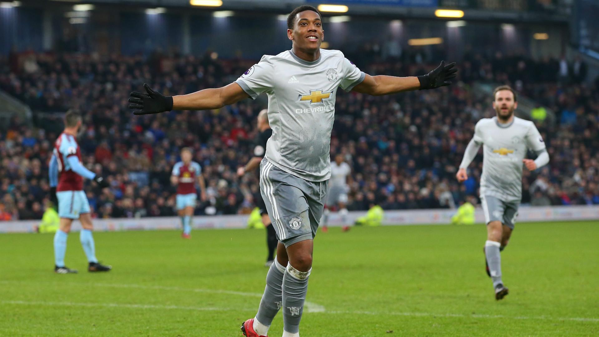 Burnley 0 Manchester United 1 Martial Keeps Up Winning Run