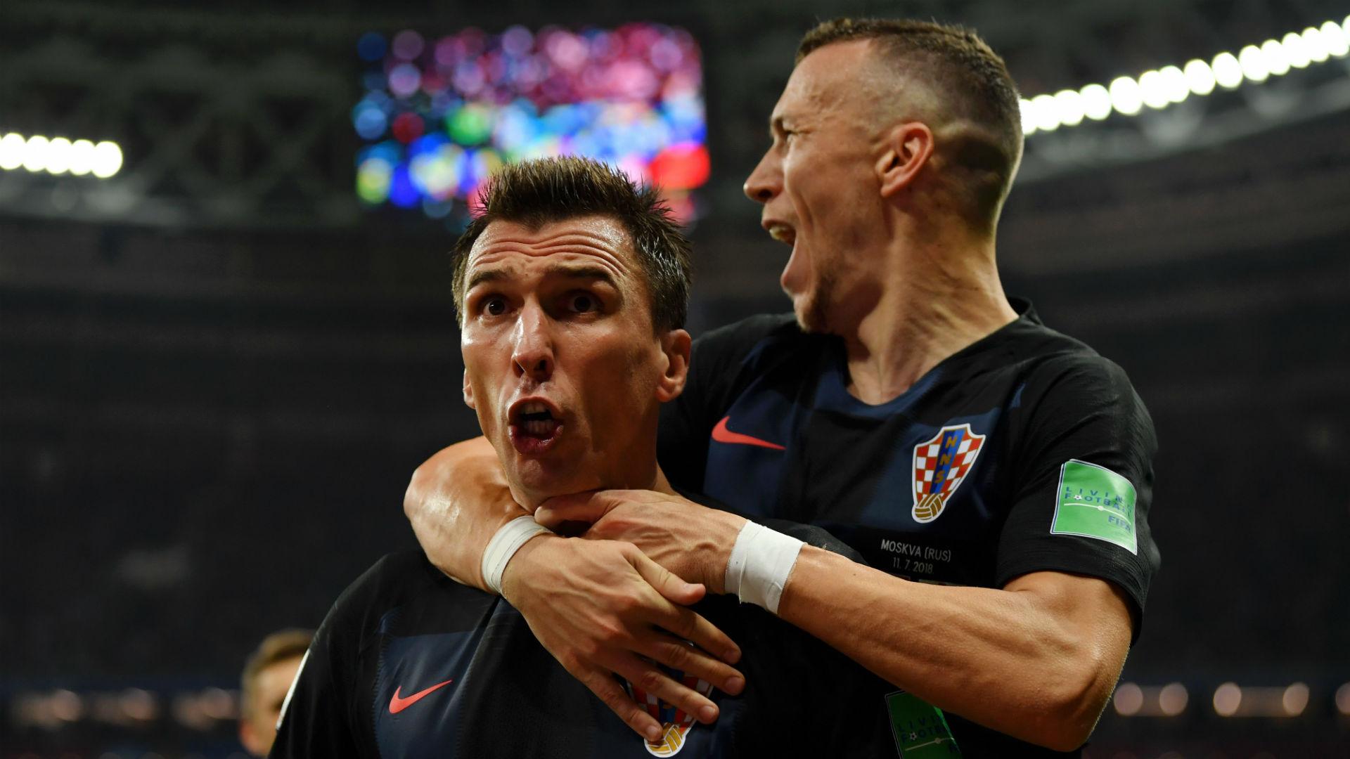 Image result for Mario Mandzukic strike guides Croatia to FIFA World Cup final as England go down 2-1