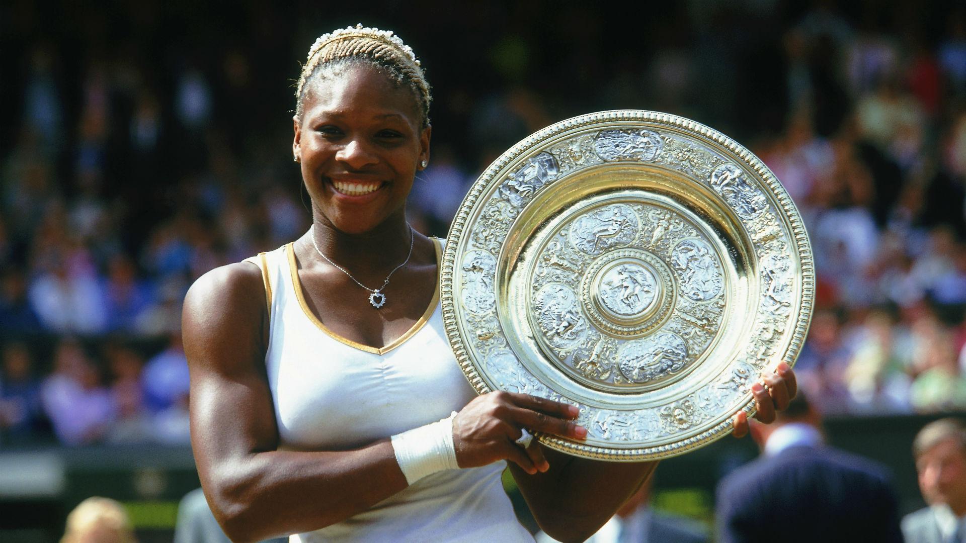Venus victories to Kerber clash - Serena Williams' seven Wimbledon titles
