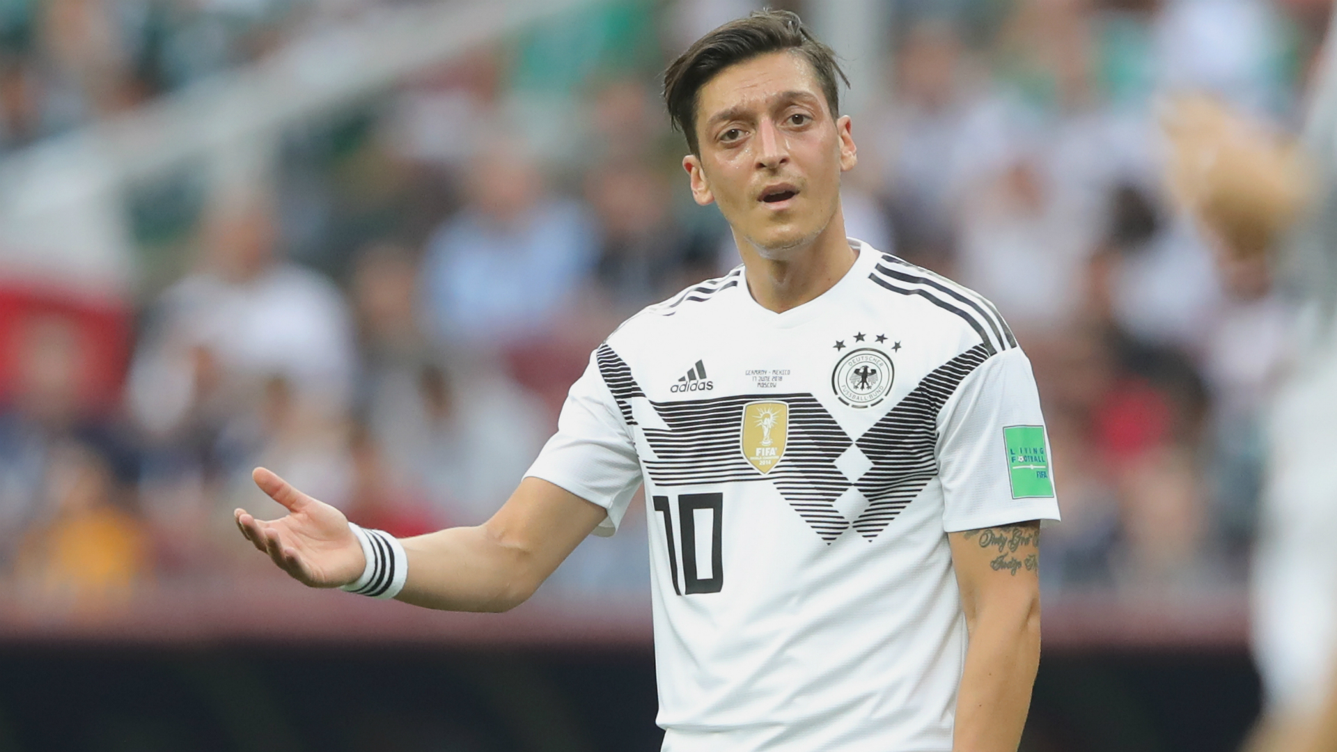 He's been playing rubbish for years - Hoeness hits out at Ozil after Germany retirement
