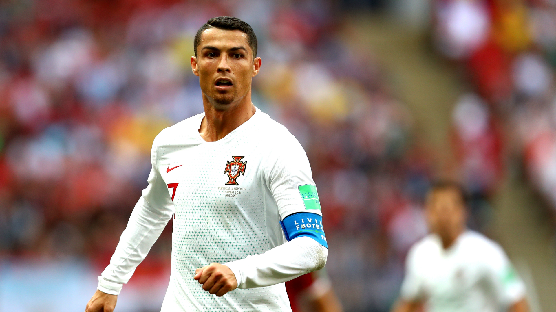 detailed look a7a4c 0ec31 World Cup 2018: Referee did not ask for Cristiano Ronaldo's ...
