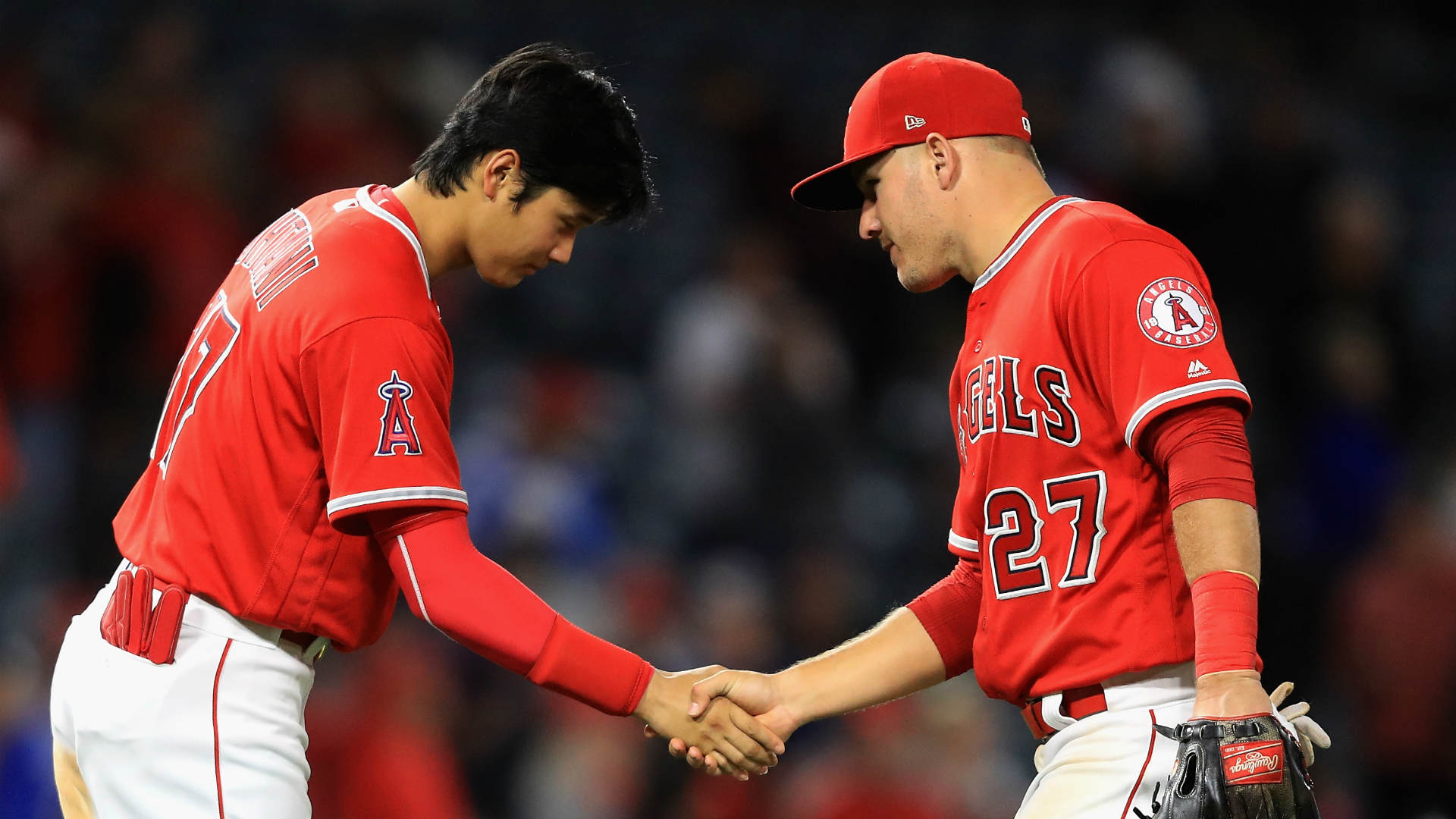 How superstars Mike Trout, Shohei Ohtani became fast friends in L.A. | BASEBALL News | Stadium Astro